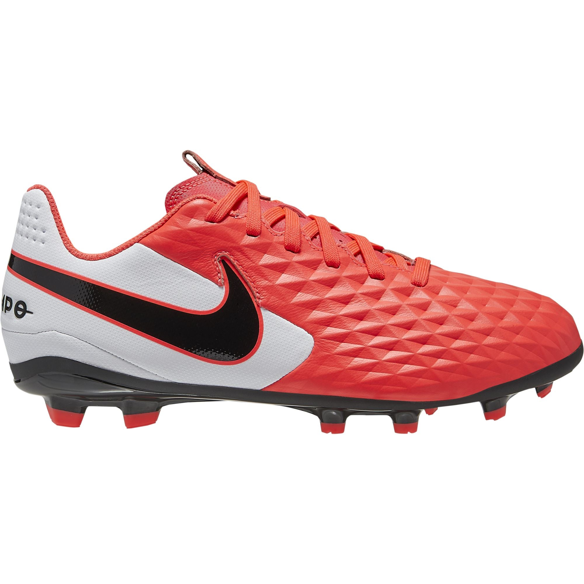 Nike JR Legend 8 Club - Laser Crimson/Black/White SP-Footwear-Football Nike
