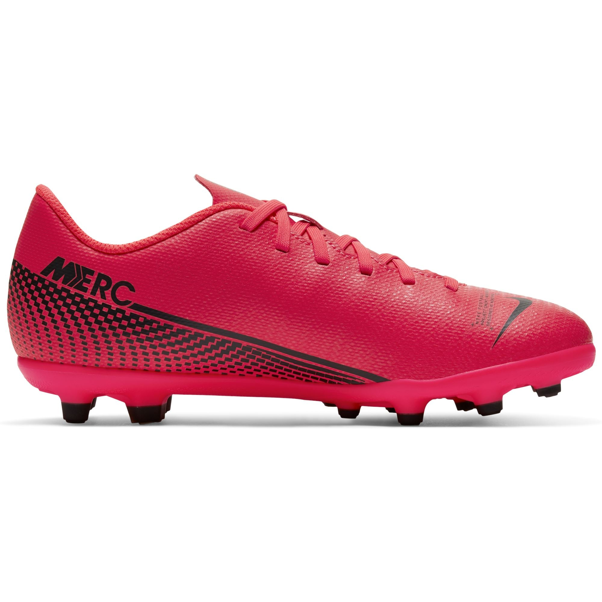 Nike Jr. Mercurial Vapor 13 Club Mg - Laser Crimson/Black-Laser Crimson SP-Footwear-Kids Nike