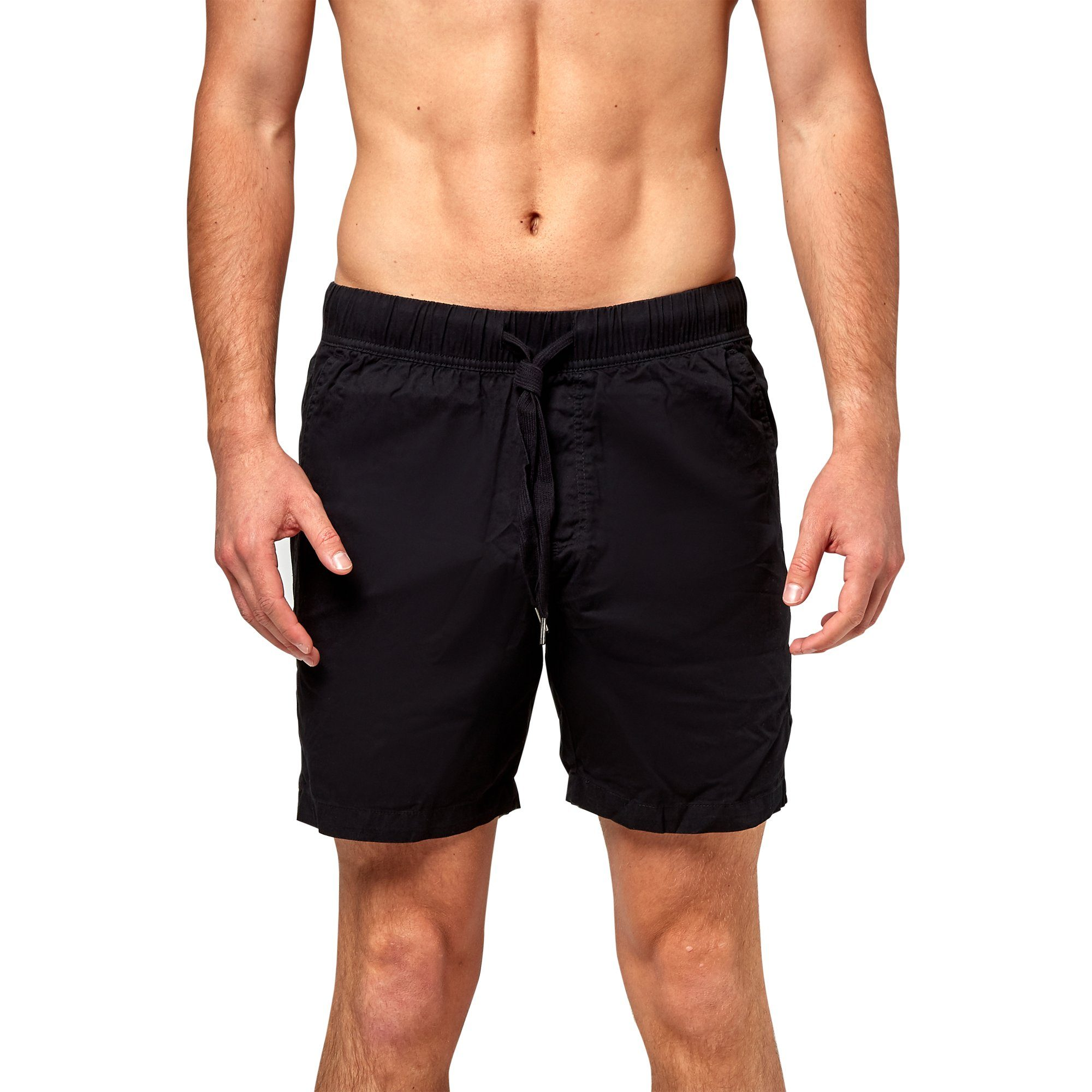 Bonds Outerwear Men's Woven Short - Black Outerwear Men's Bonds