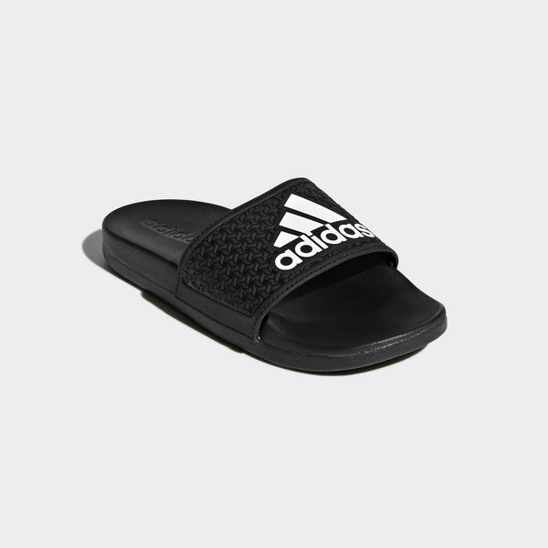 Adidas Unisex adilette Cloudfoam Plus - core black-ftwr white-core black Unisex Footwear Adidas