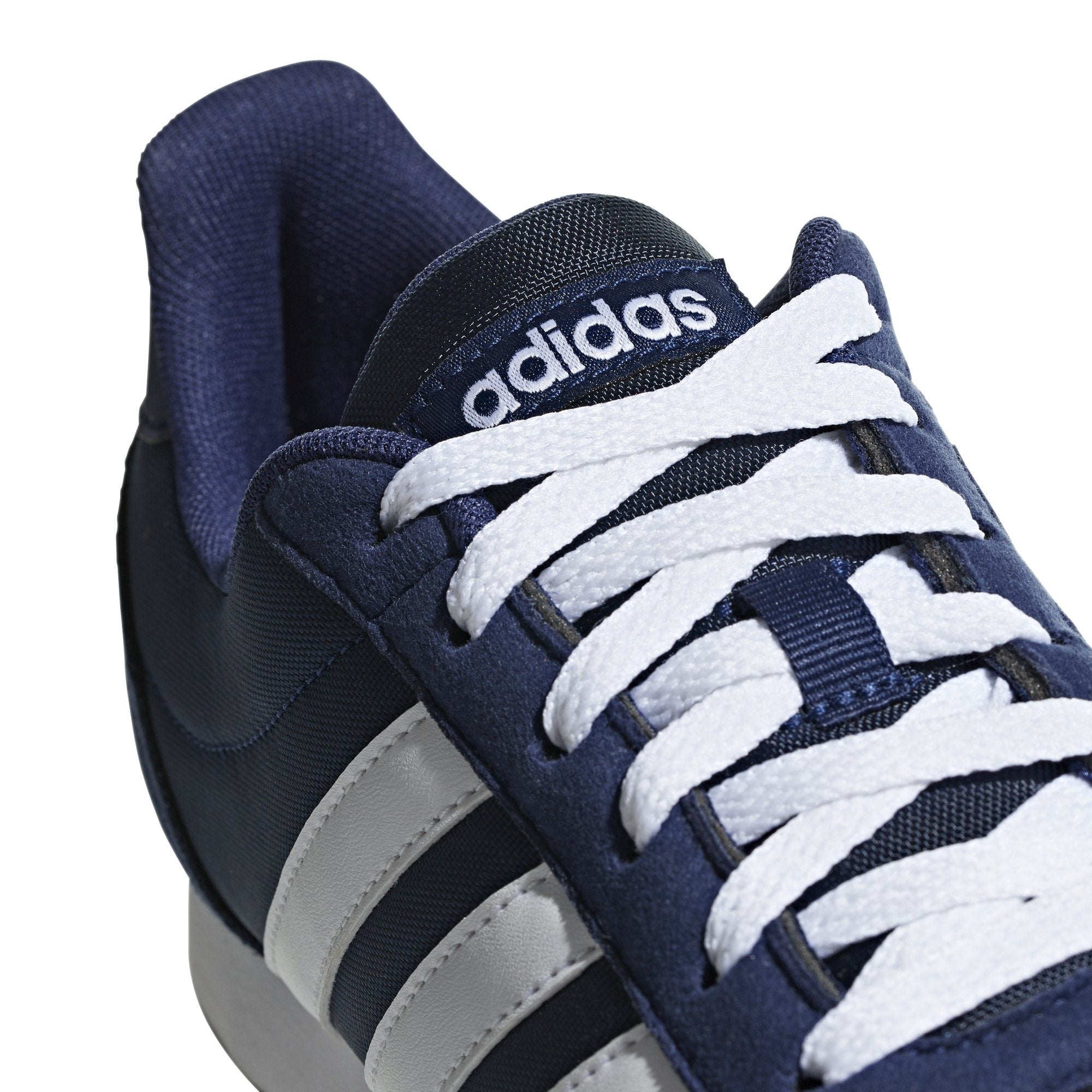 Adidas Mens V Racer 2.0 Shoes - dark blue/ftwr white/ftwr white SP-Footwear-Mens Adidas