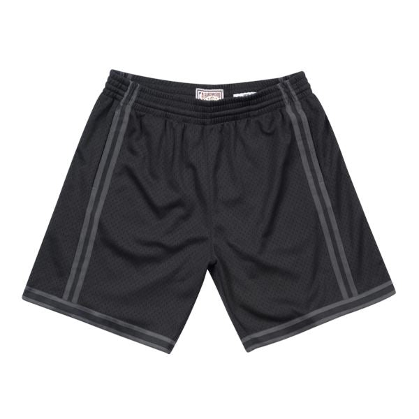 Mitchell & Ness Tonal Black NBA Swingman Shorts - LA Lakers (Black) SP-ApparelShorts-Mens Mitchell & Ness