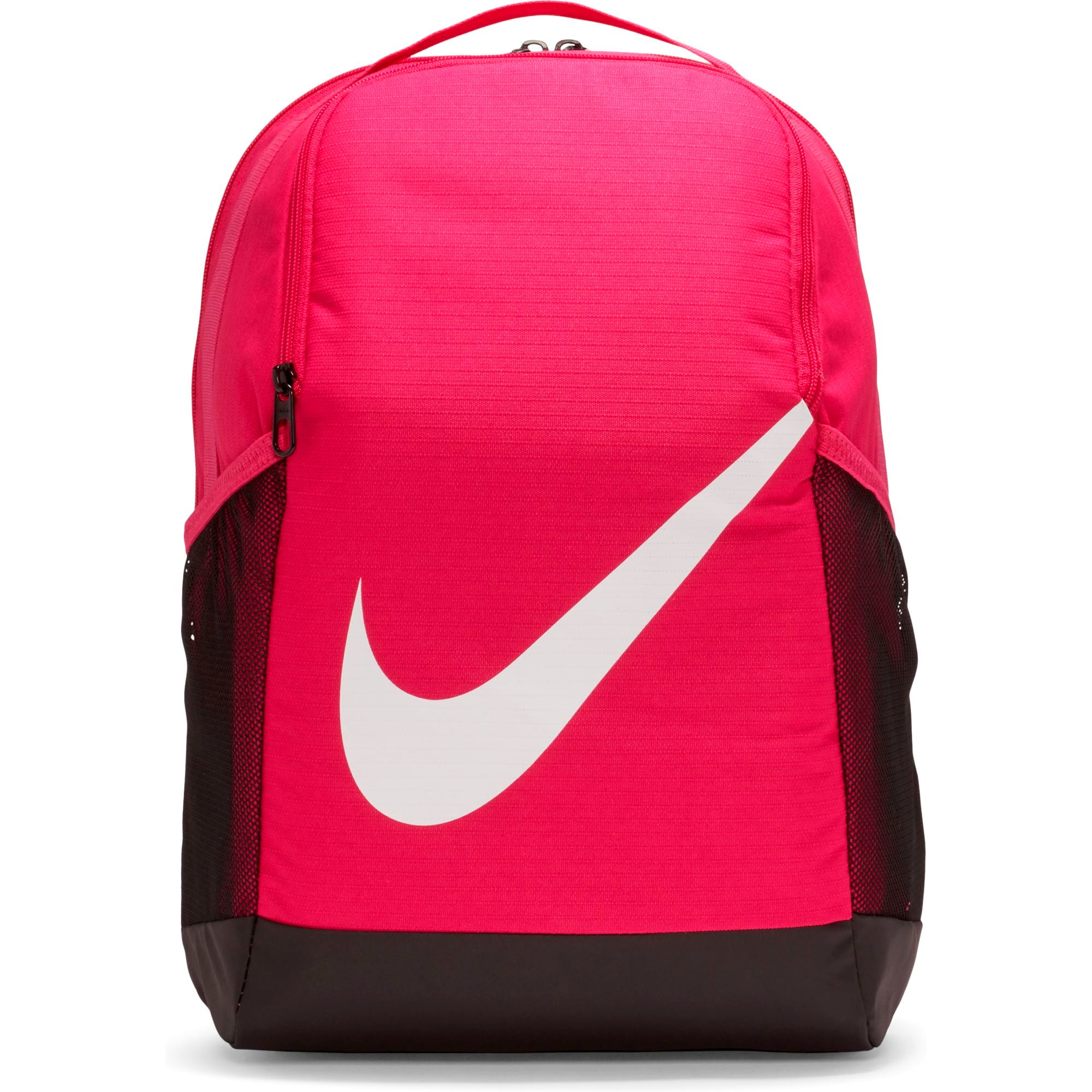Nike Kids Brasilia Backpack - Fireberry/White SP-Accessories-Bags Nike