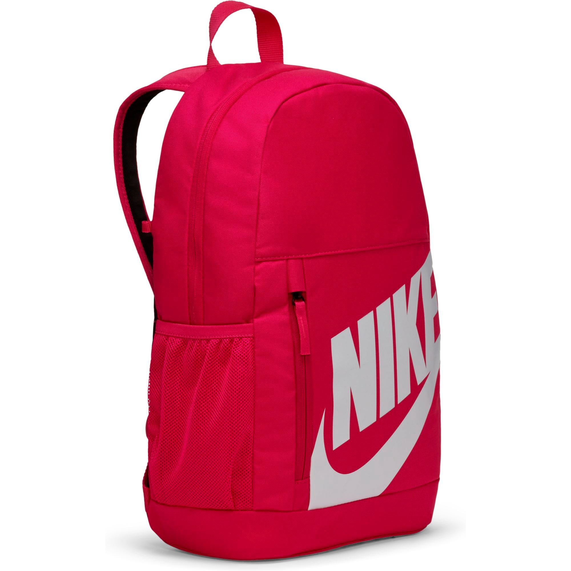 Nike Kids Elemental Backpack - Fireberry/White SP-Accessories-Bags Nike