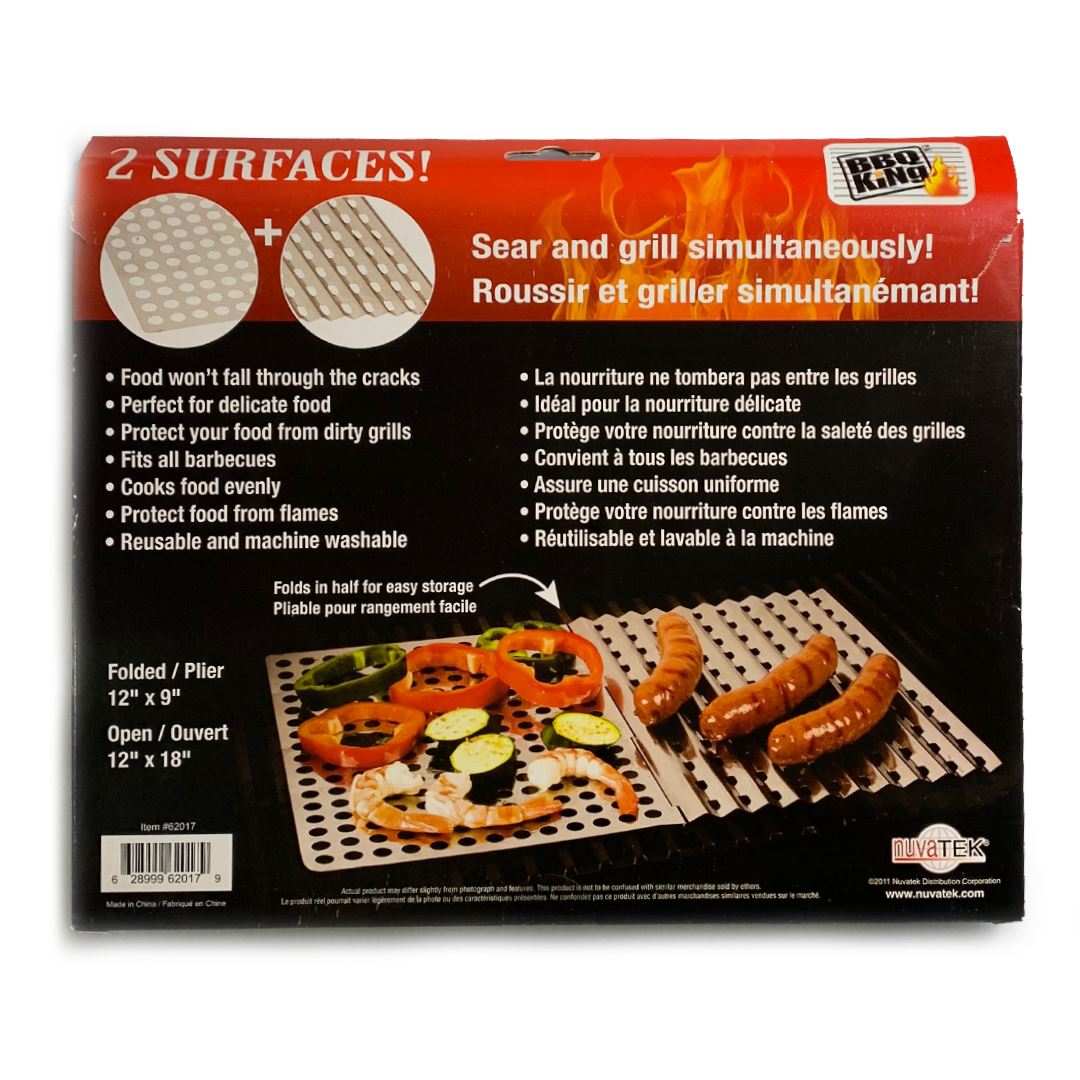BBQ King Dual Surface BBQ Sheet Outdoor BBQ King