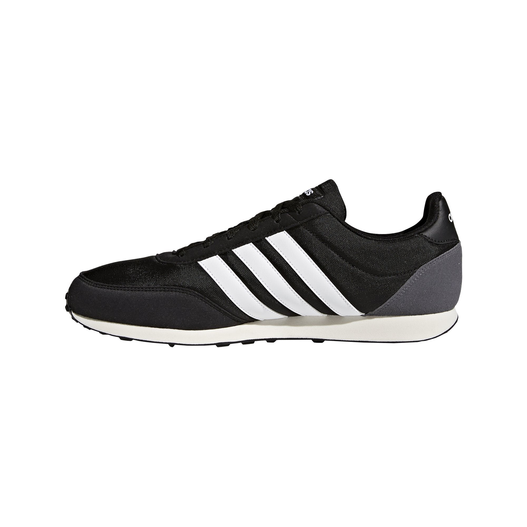 Adidas Mens V Racer 2.0 Shoes - core black/ftwr white/grey five SP-Footwear-Mens Adidas