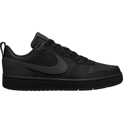 Nike Boys GS Court Borough Low 2 Sneaker - Black/Black-Black SP-Footwear-KidsBoys Nike