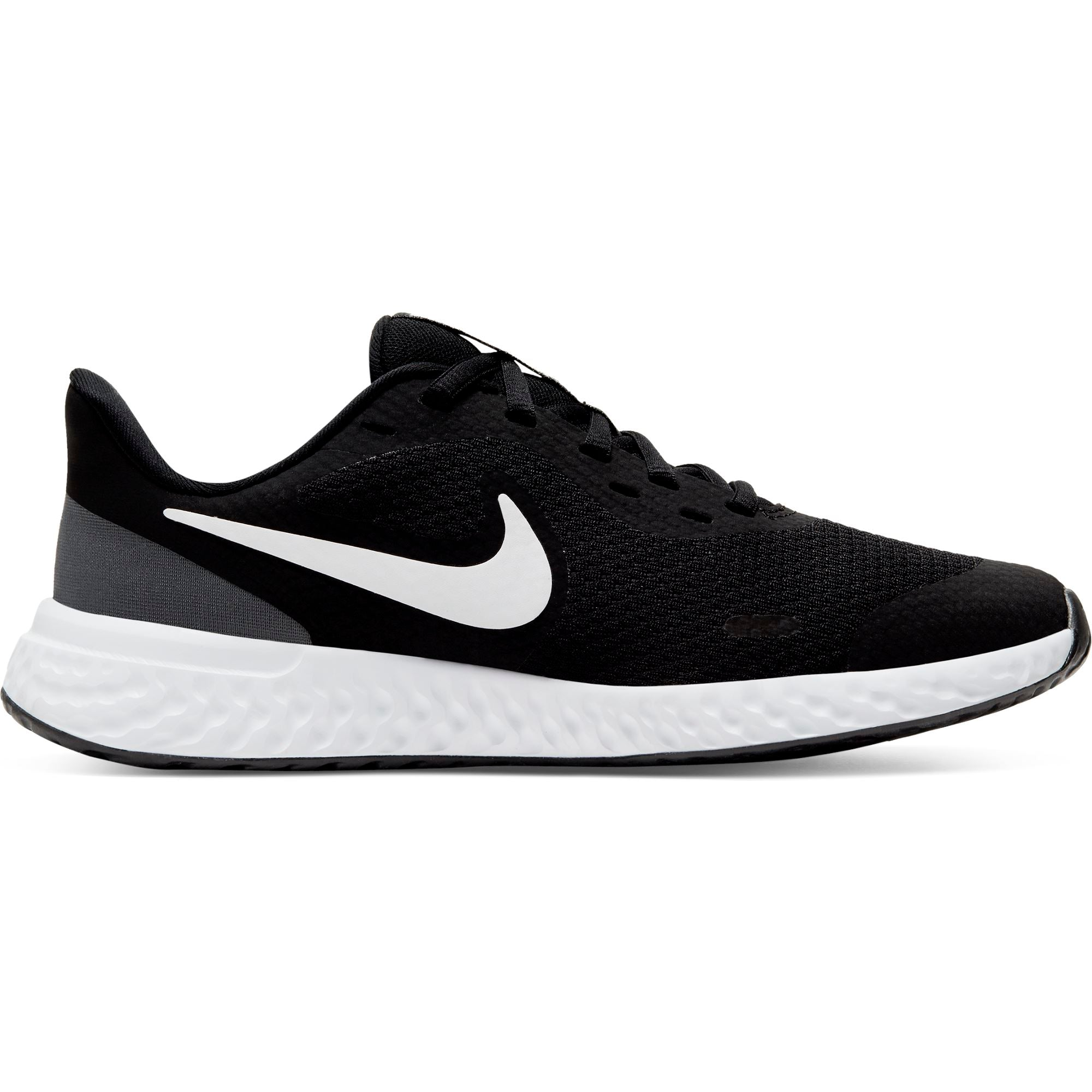Nike Boys Revolution 5 - Black/White-Anthracite SP-Footwear-Kids Nike