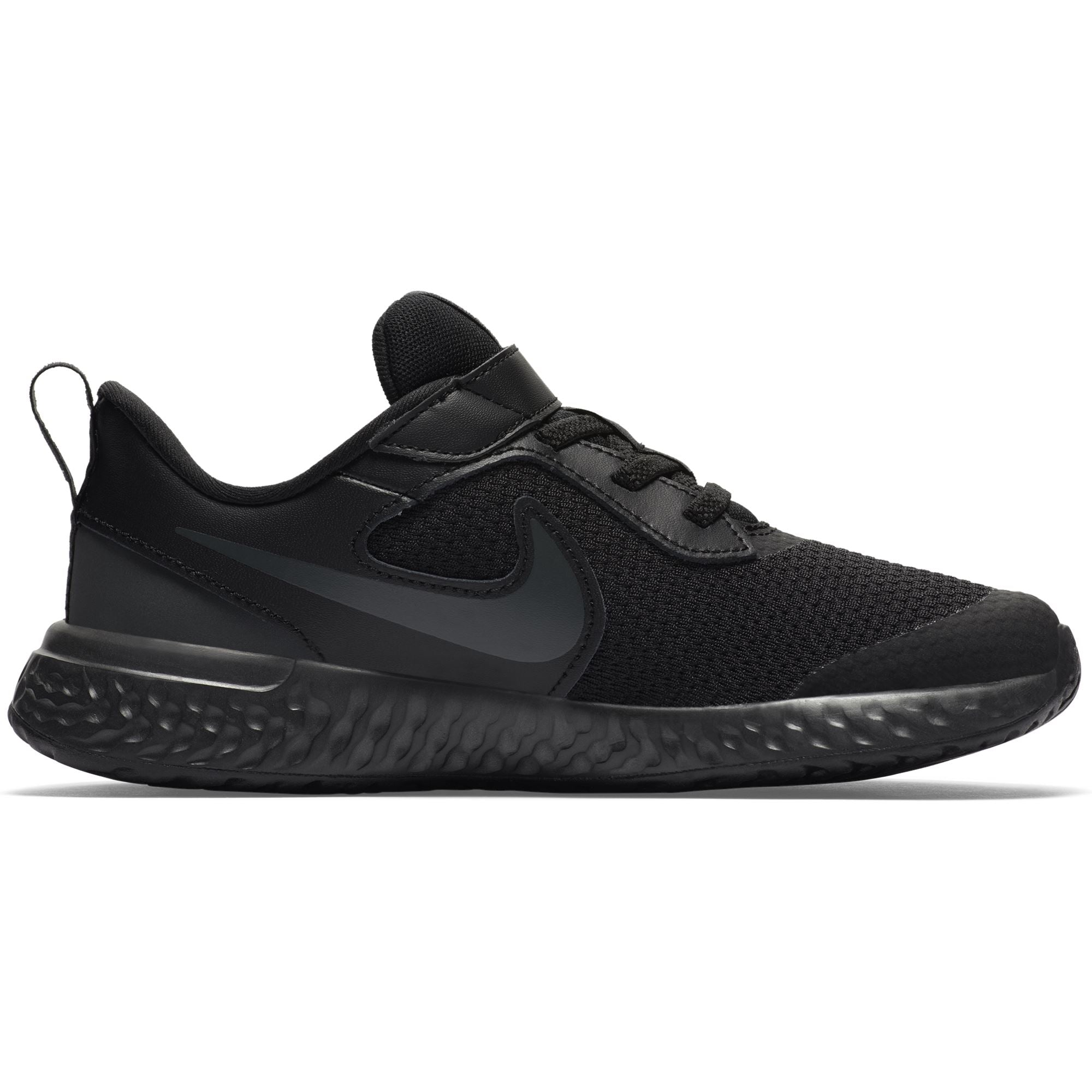 Nike Kids Revolution 5 Little Kids Shoe - Black/Black-Anthracite SP-Footwear-Kids Nike