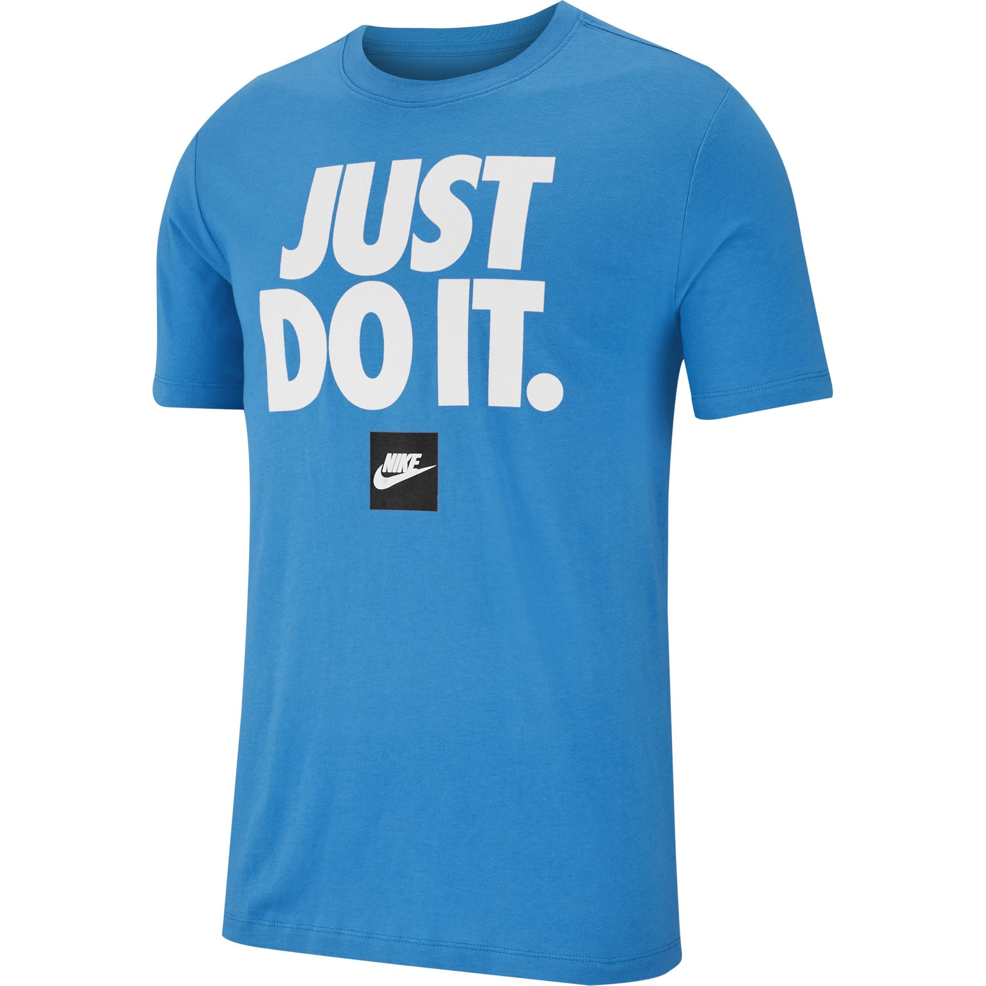 Nike Mens Just Do It Tee - Lt Photo Blue Q3NIKE Nike