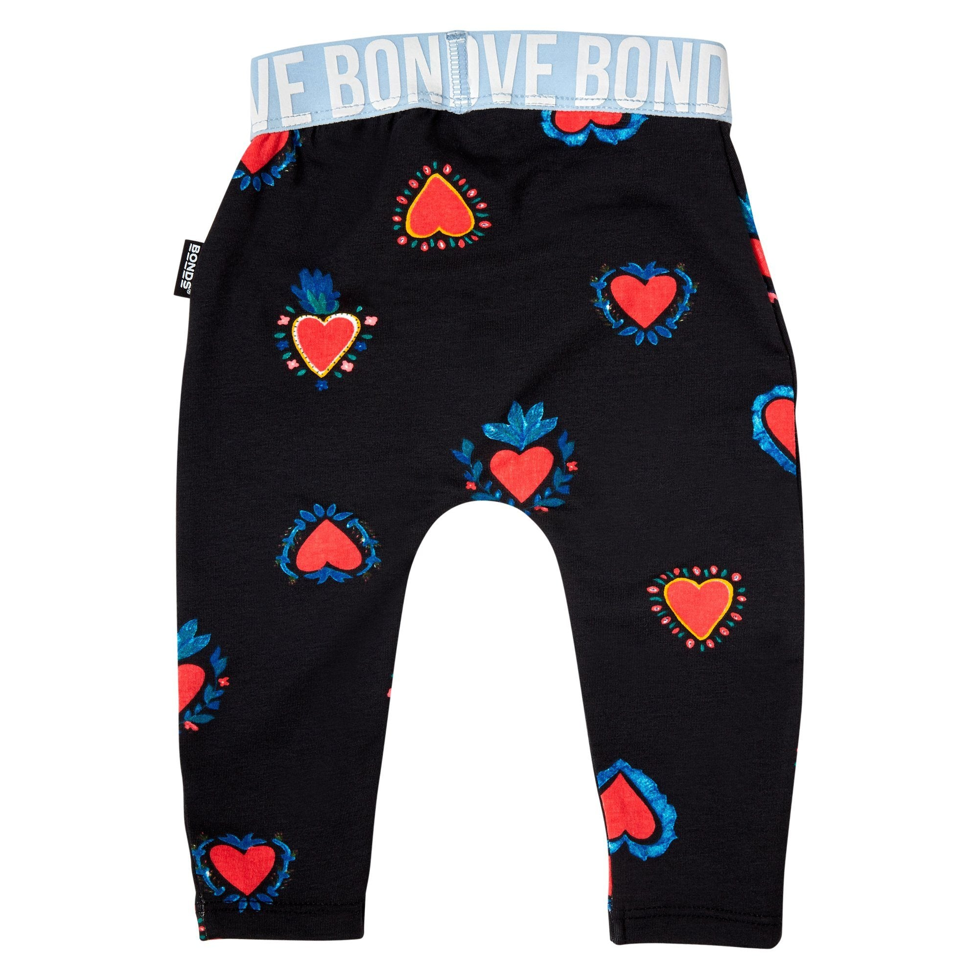 Bonds Baby Stretchies Logo Legging Black Baby Isbister & Co Wholesale