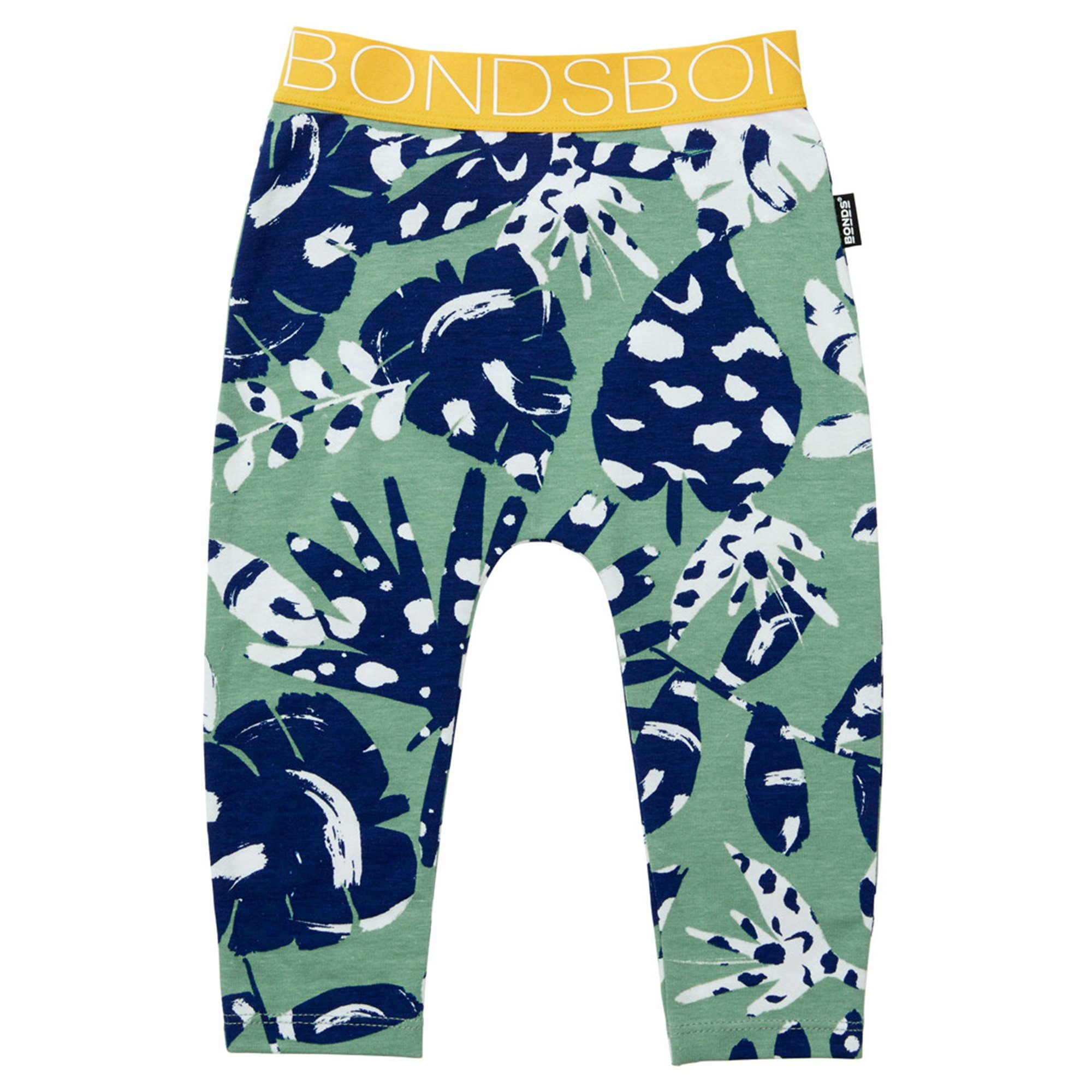 Bonds Baby Stretchies Legging Green Print Baby Isbister & Co Wholesale