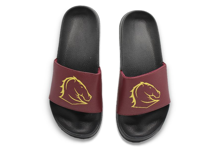 NRL Adults Slides - Brisbane Broncos Footwear Team Uggs
