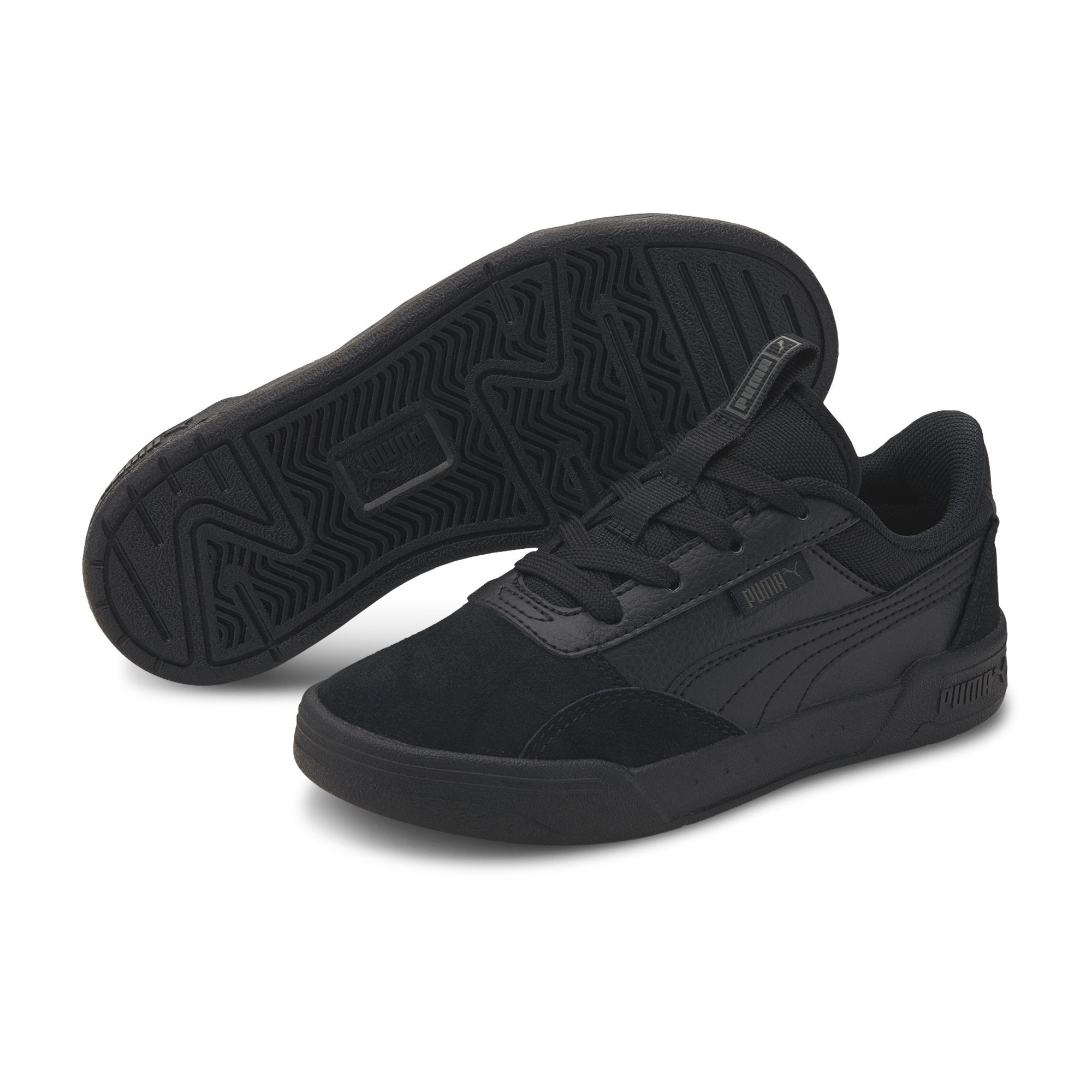 Puma C-Skate PS - Puma Black-Puma Black SP-Footwear-Kids Puma