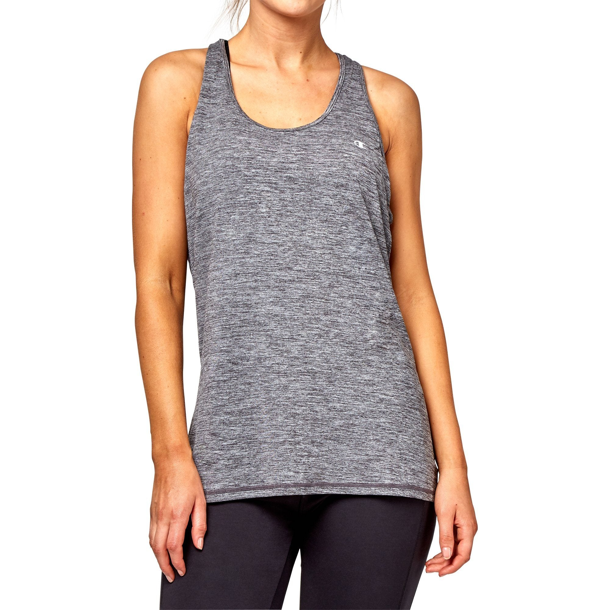 Champion Women's Absolute Tank - Granite Heather Apparel Champion
