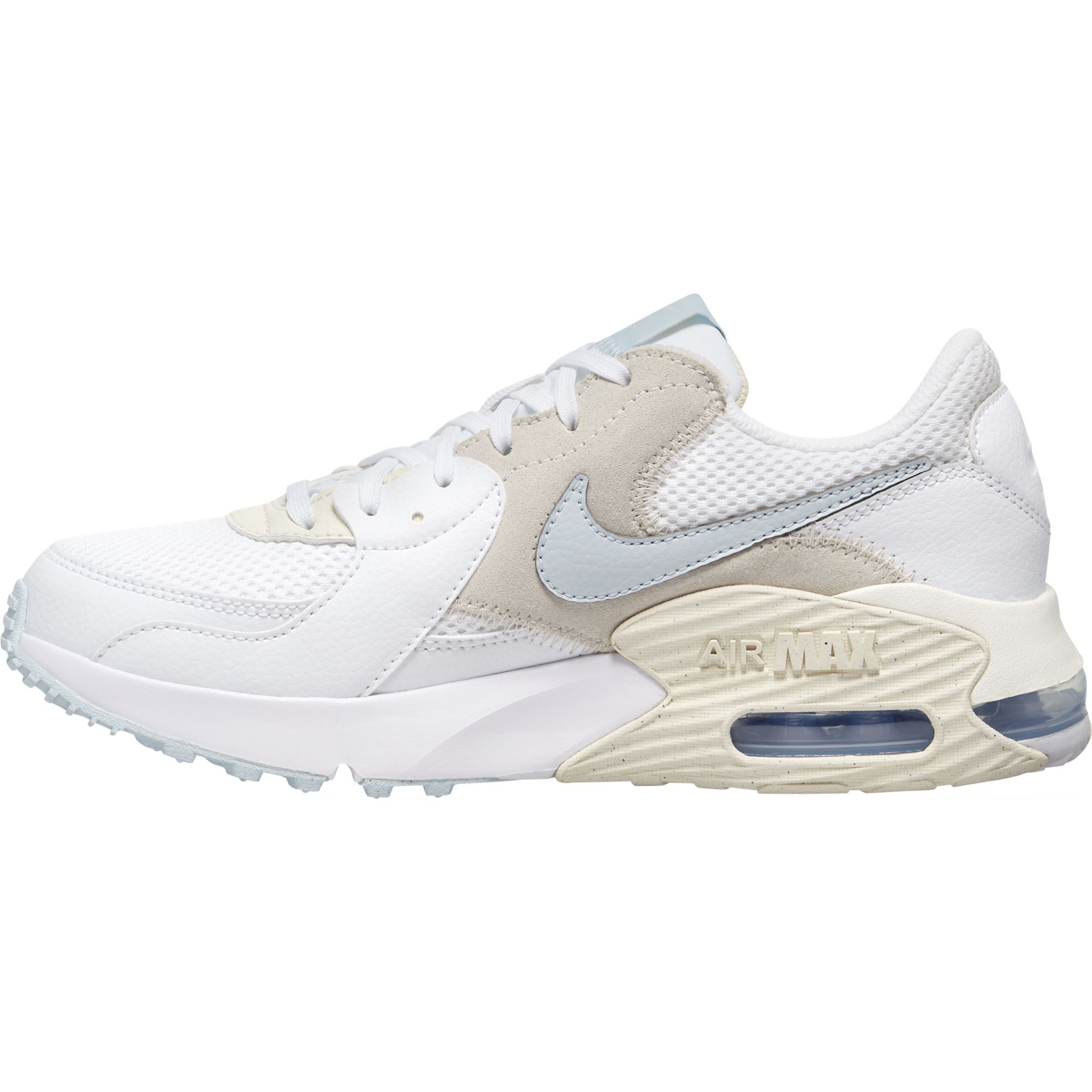 Nike Womens Air Max Excee - White/Aura-Pale Ivory-Light Cream SP-Footwear-Womens Nike