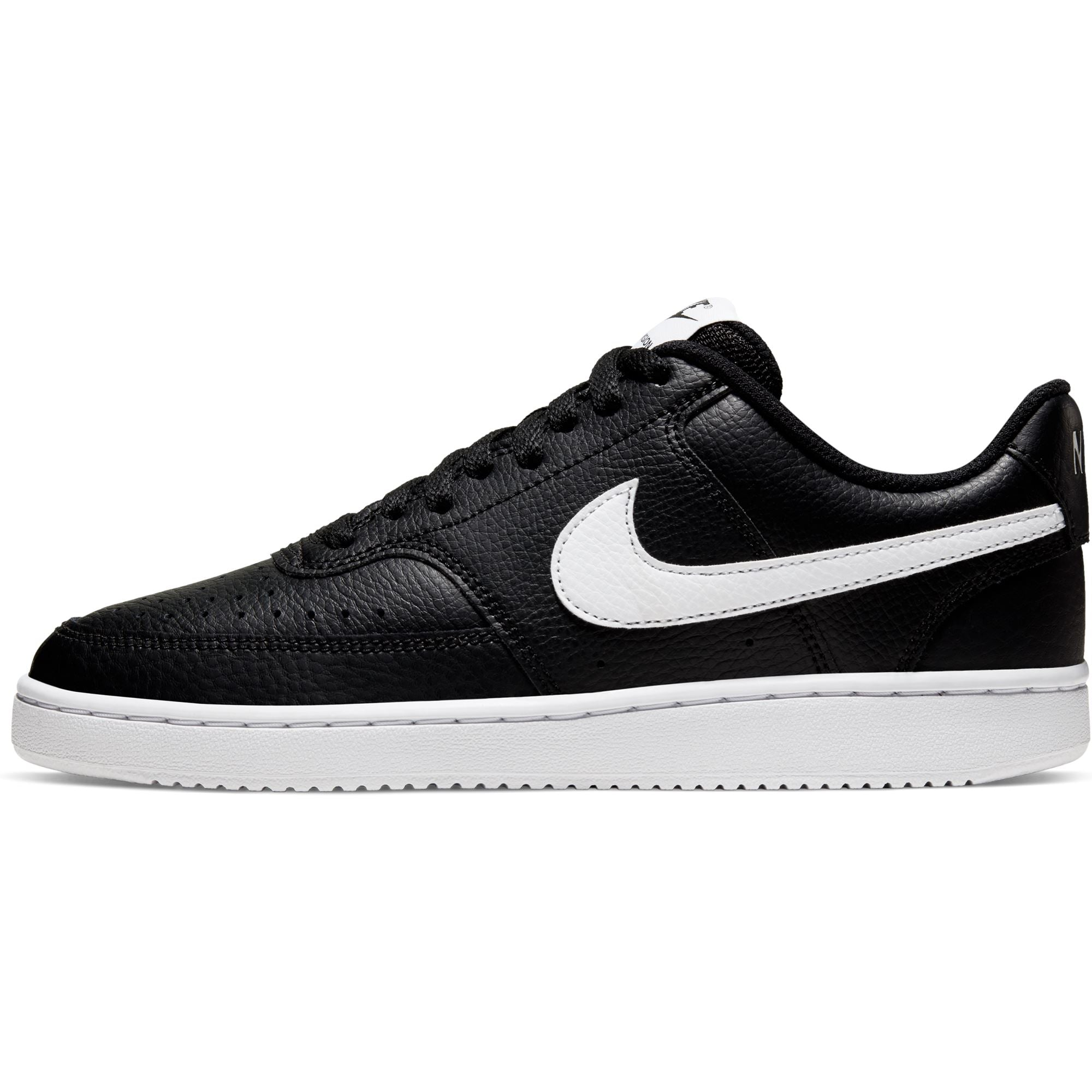 Nike Womens Court Vision Low - Black/White SP-Footwear-Womens Nike