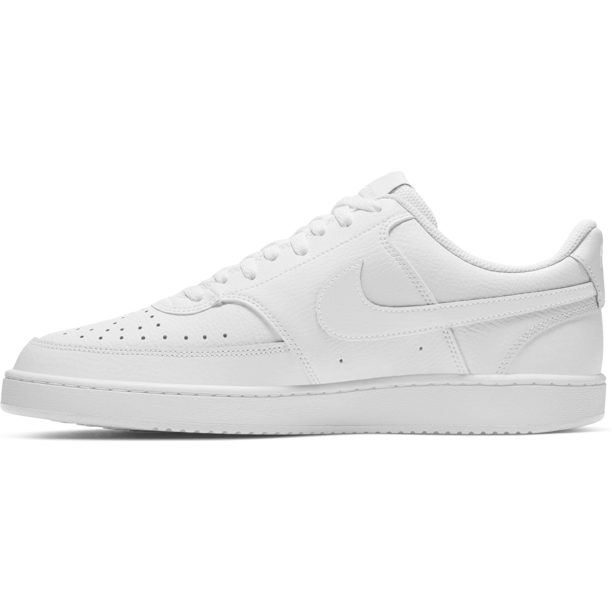 Nike Mens Court Vision Low - White/White-White SP-Footwear-Mens Nike