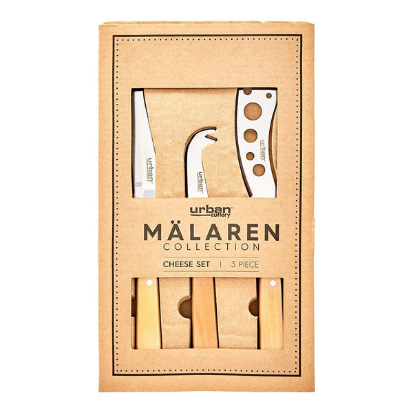 Malaren 3p Cheese Set - Wood Kitchenware Isbister & Co Wholesale