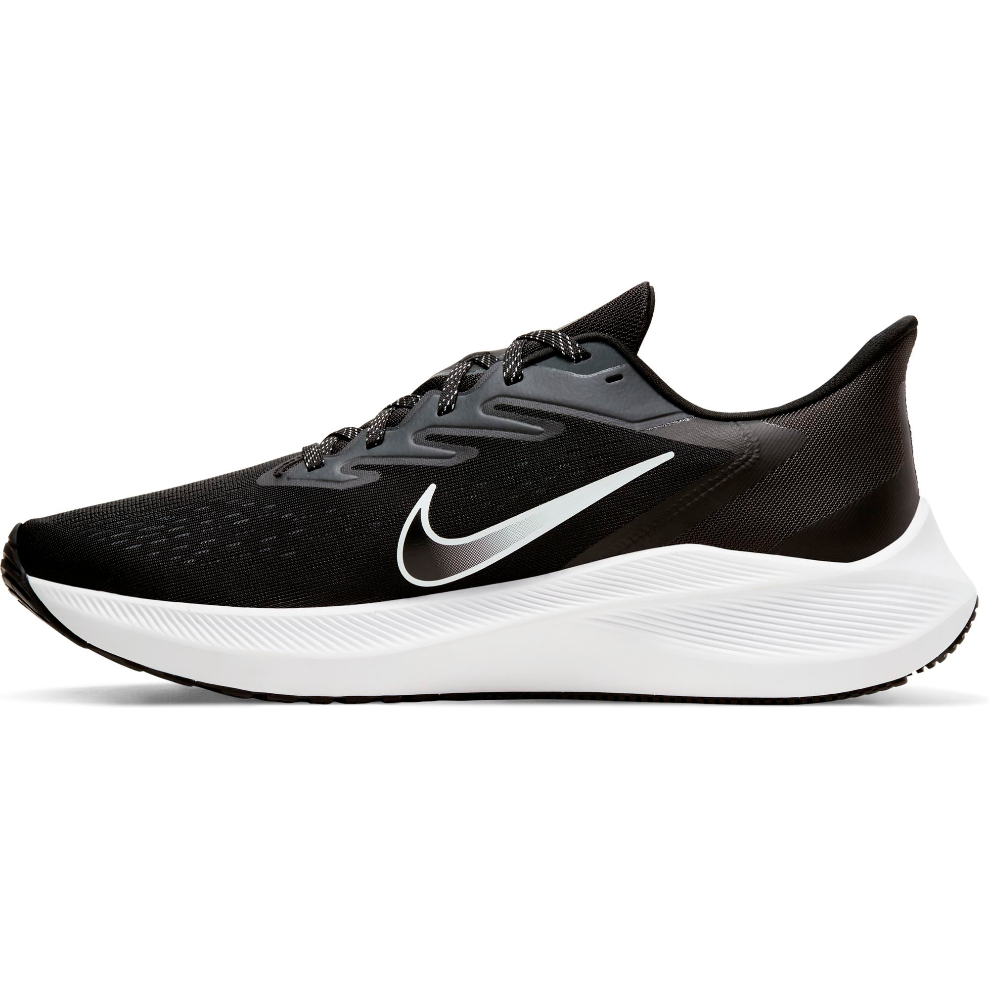 Nike Mens Air Zoom Winflo 7 - Black/White-Anthracite SP-Footwear-Mens Nike