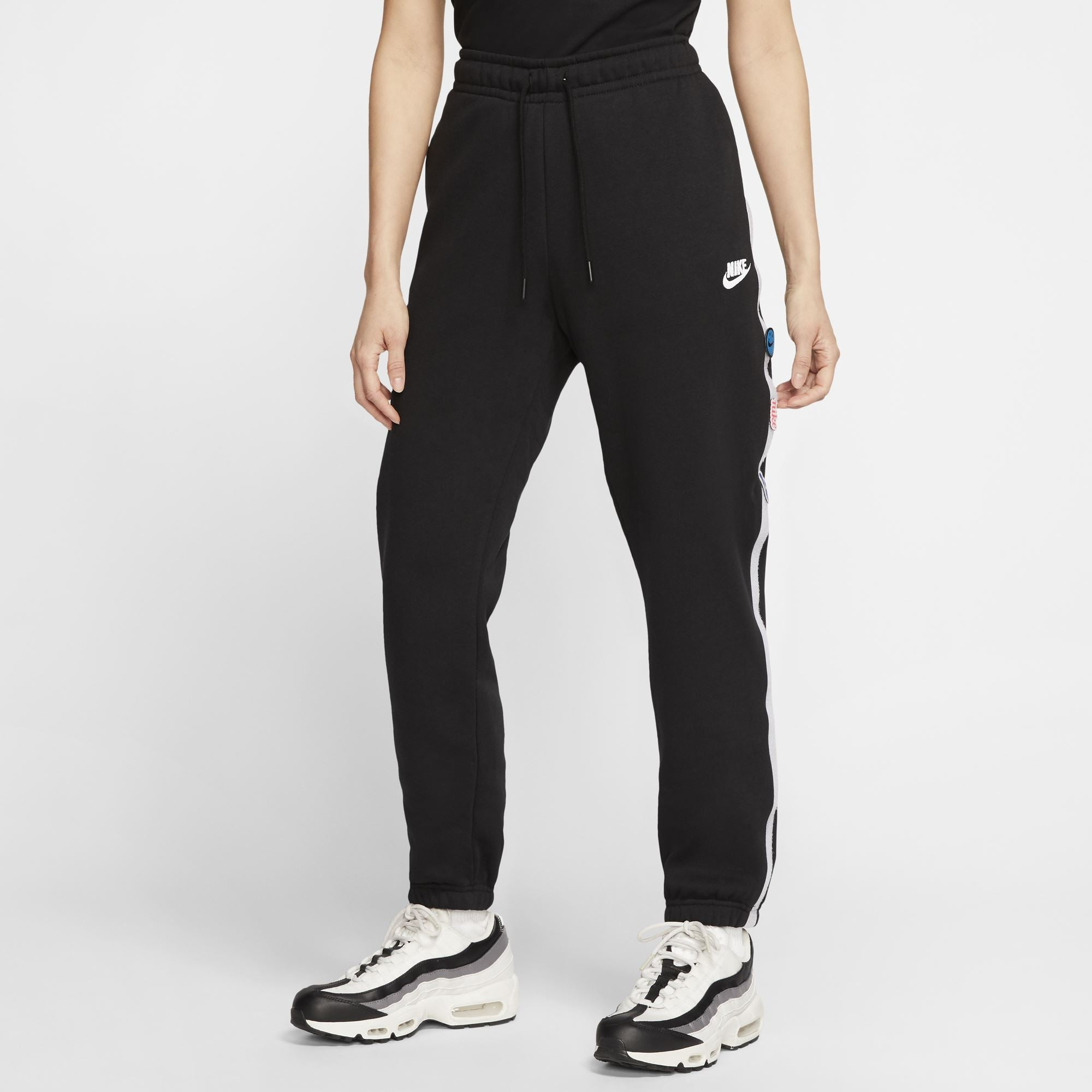 Nike Womens Sportswear Fleece Pants - Black SP-ApparelFleece-Womens Nike