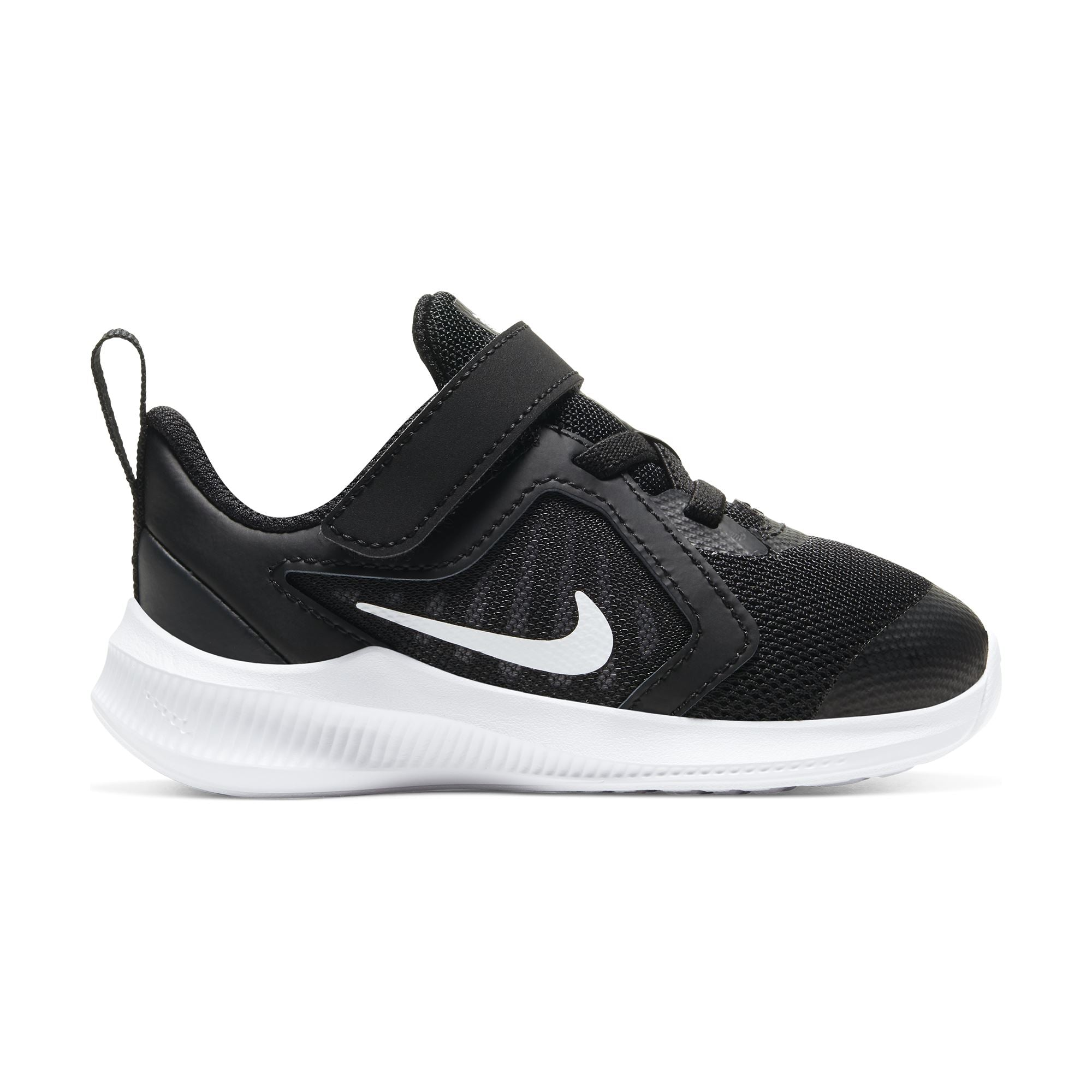 Nike Kids Downshifter 10 - Black/White-Anthracite SP-Footwear-Kids Nike