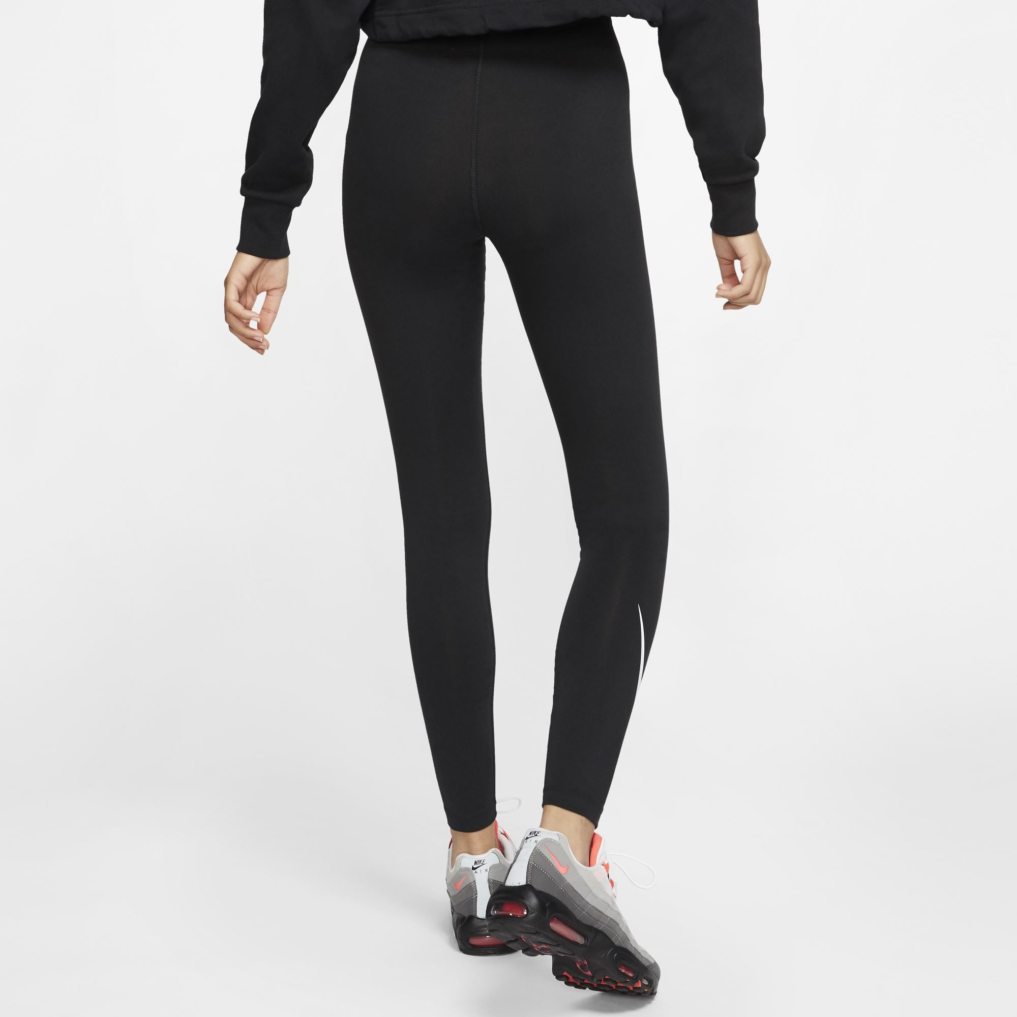 Nike Womens Sportswear Leg-A-See Swoosh Leggings SP-ApparelTights-Women Nike