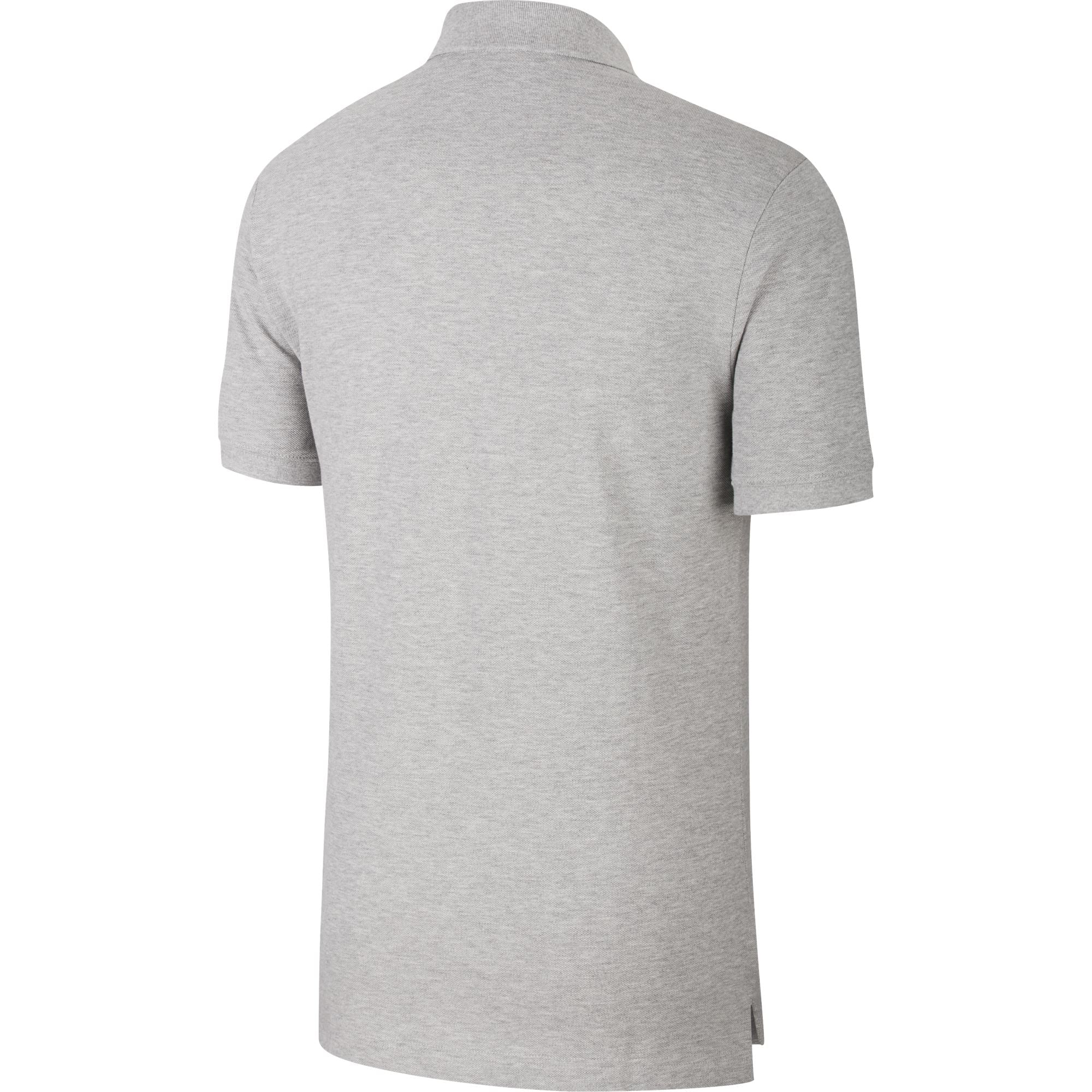 Nike Men's Sportswear Polo Shirt Match-Up - Dark Grey Heather/White SP-ApparelShirts-Mens Nike