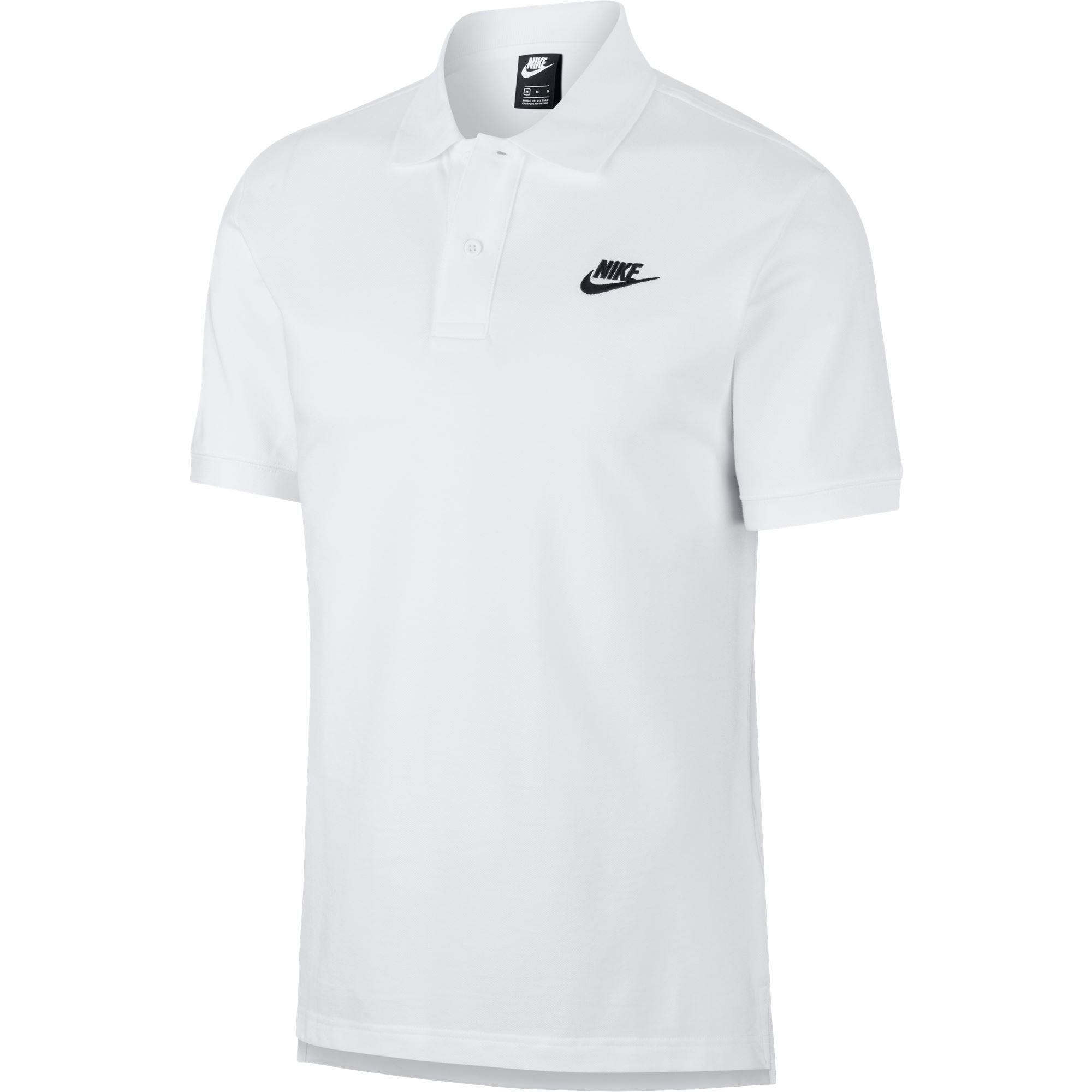Nike Men's Sportswear Polo Shirt Match-Up - White/Black SP-ApparelShirts-Mens Nike