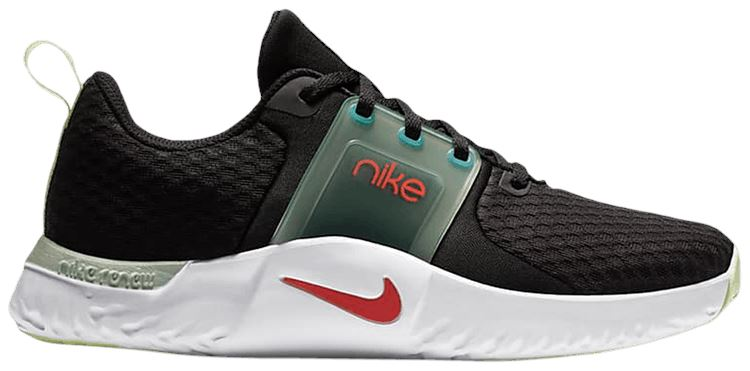 Nike Renew In-Season TR 10 - Black/Bright Crimson-Pistachio Frost SP-Footwear-Womens Nike