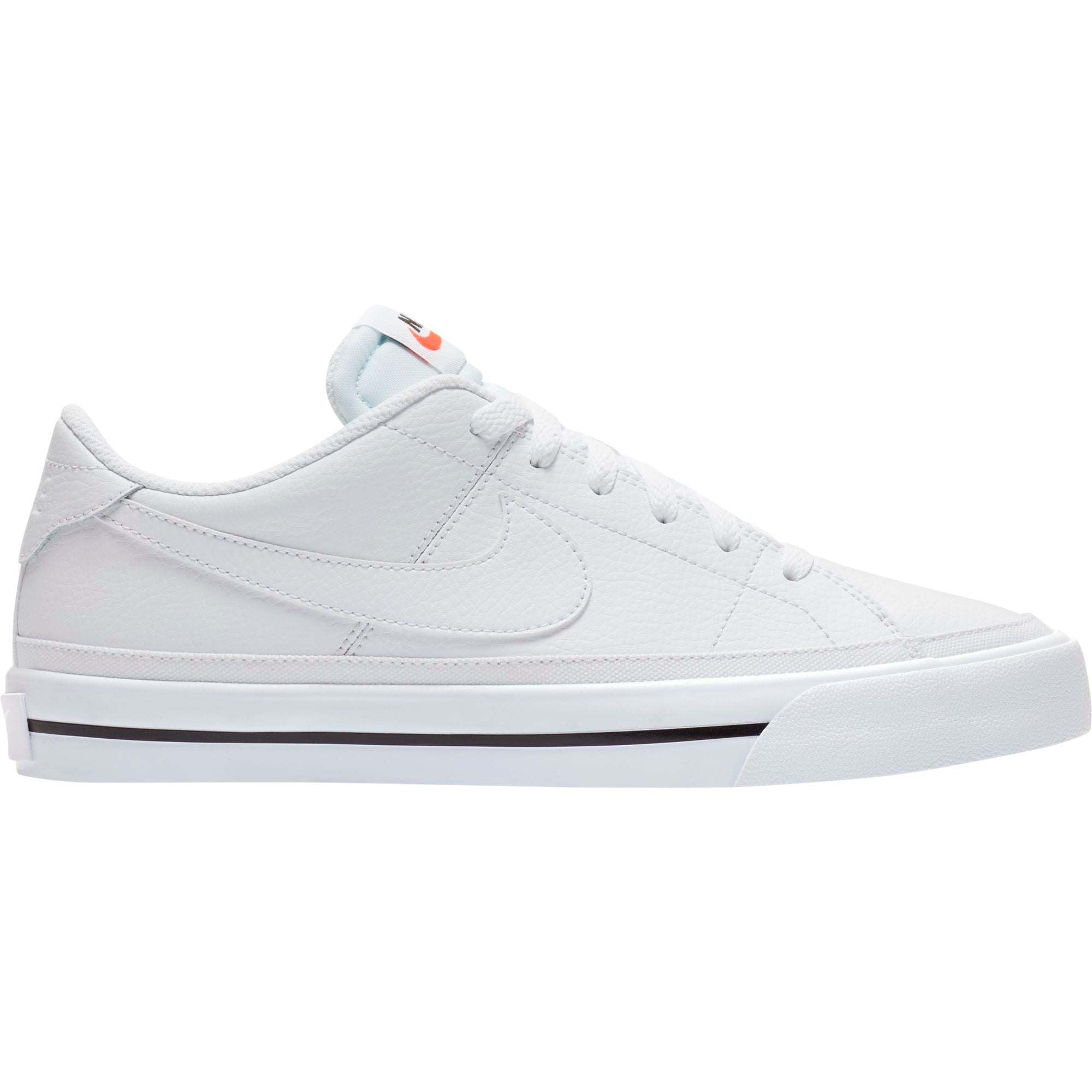 Nike Womens Court Legacy - White/White-Black SP-Footwear-Mens Nike