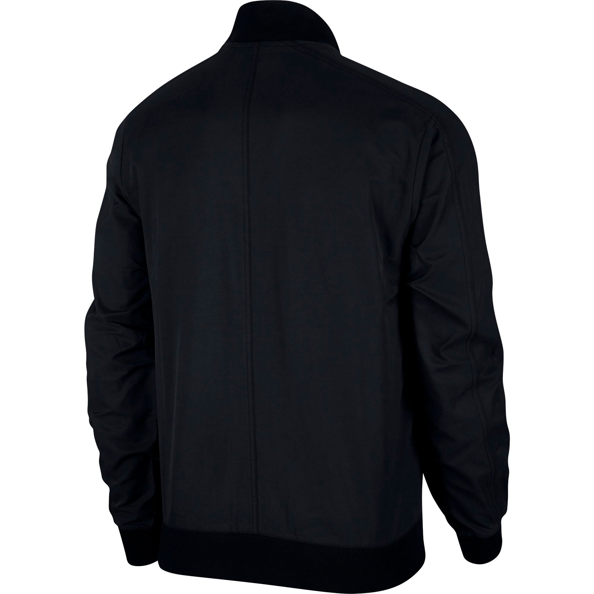 Nike Men's Sportswear Woven Players Jacket - Black/White SP-ApparelJackets-Mens Nike