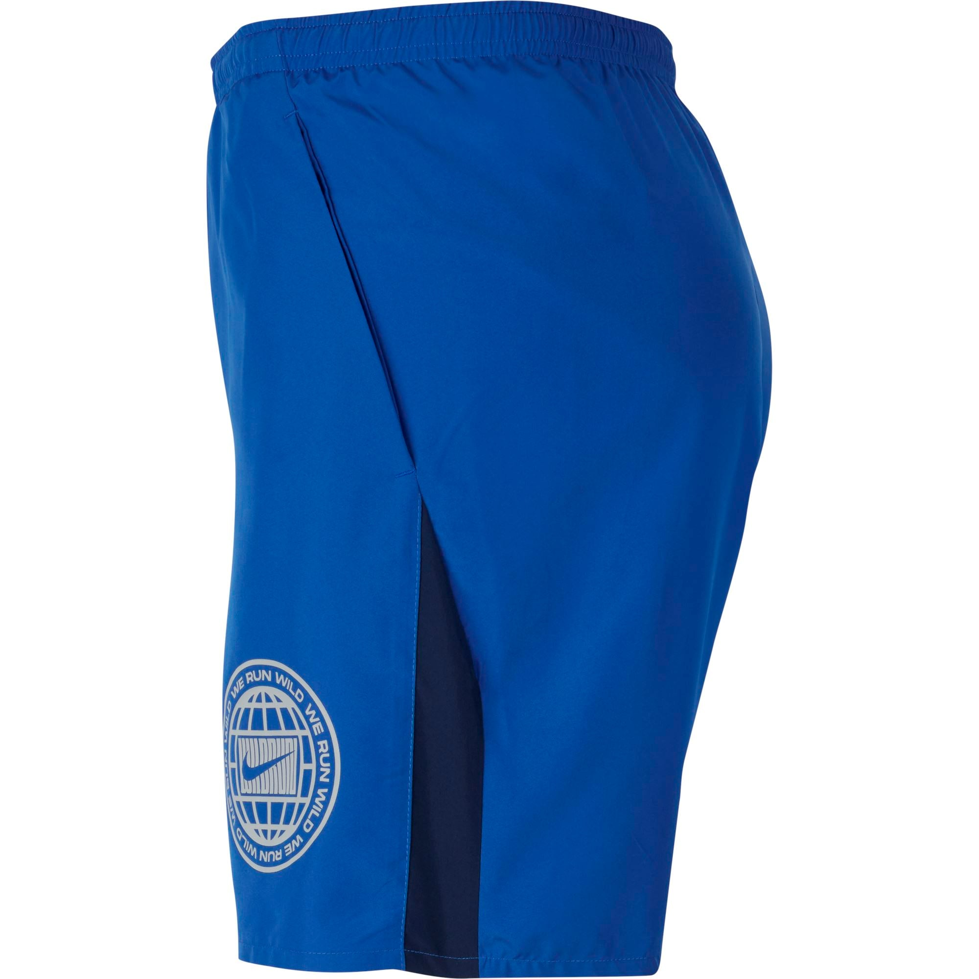 Nike Men's Dri-FIT Wild Run Short - Astronomy Blue/Reflective Silver SP-ApparelShorts-Mens Nike