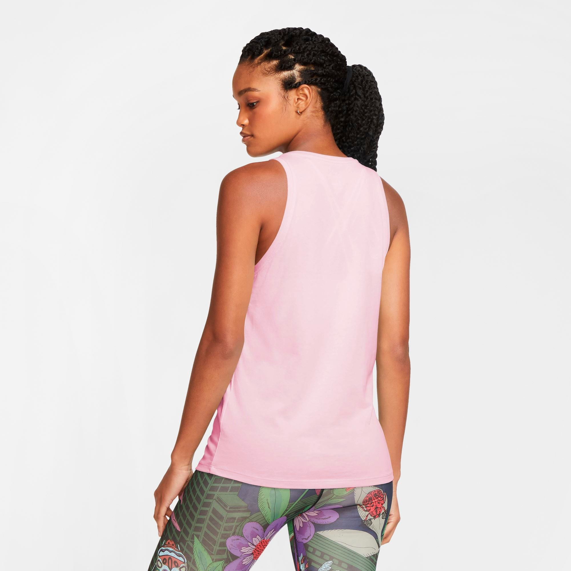 Nike Womens Dri-FIT Icon Clash Tank - Pink Foam SP-ApparelTanks-Womens Nike