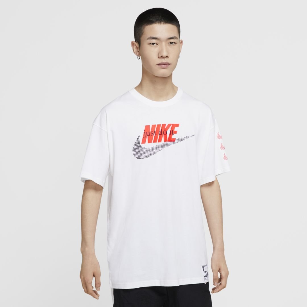 Nike Men's Sportswear Tee Futura - White SP-ApparelTees-Mens Nike
