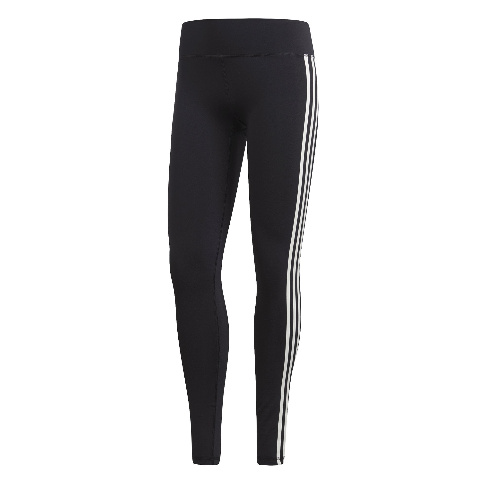 Adidas Womens Believe This 3-Stripes Tights - black SP-ApparelTights-Women Adidas