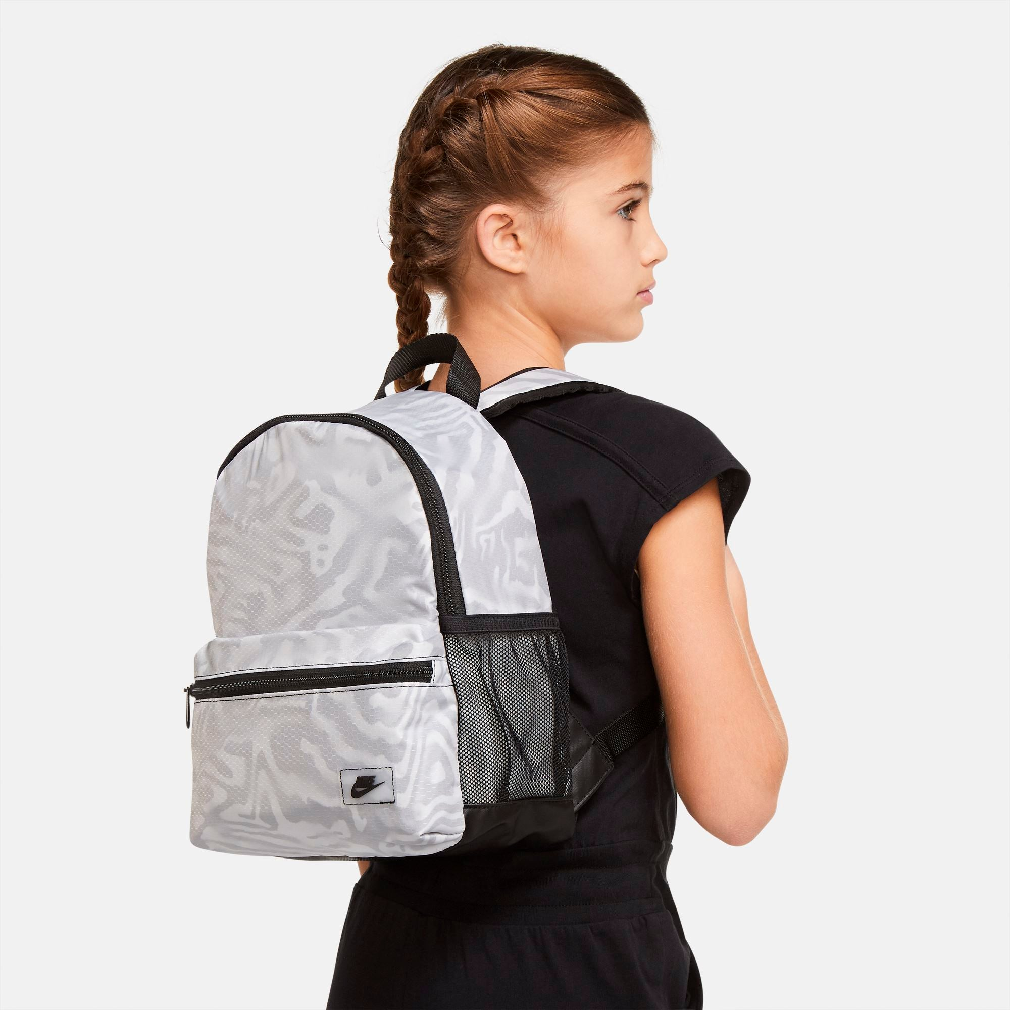 Nike Brasilia JDI Mini Backpack - Black/White/Black SP-Accessories-Bags Nike