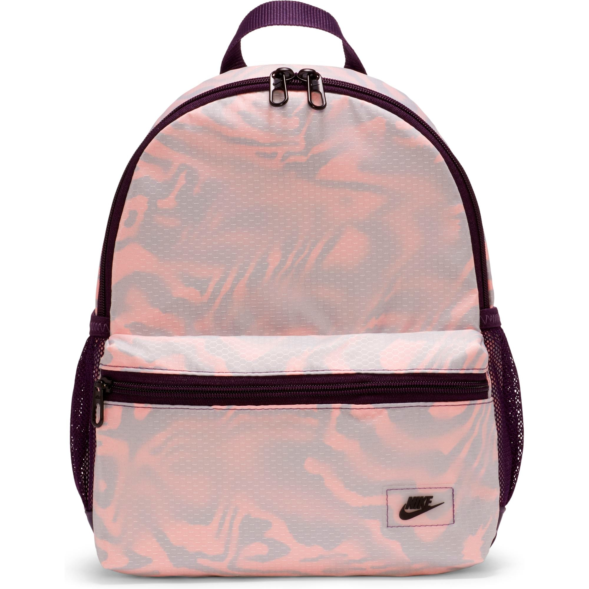 Nike Brasilia JDI Mini Backpack - Grand Purple/Bright Mango/Black SP-Accessories-Bags Nike
