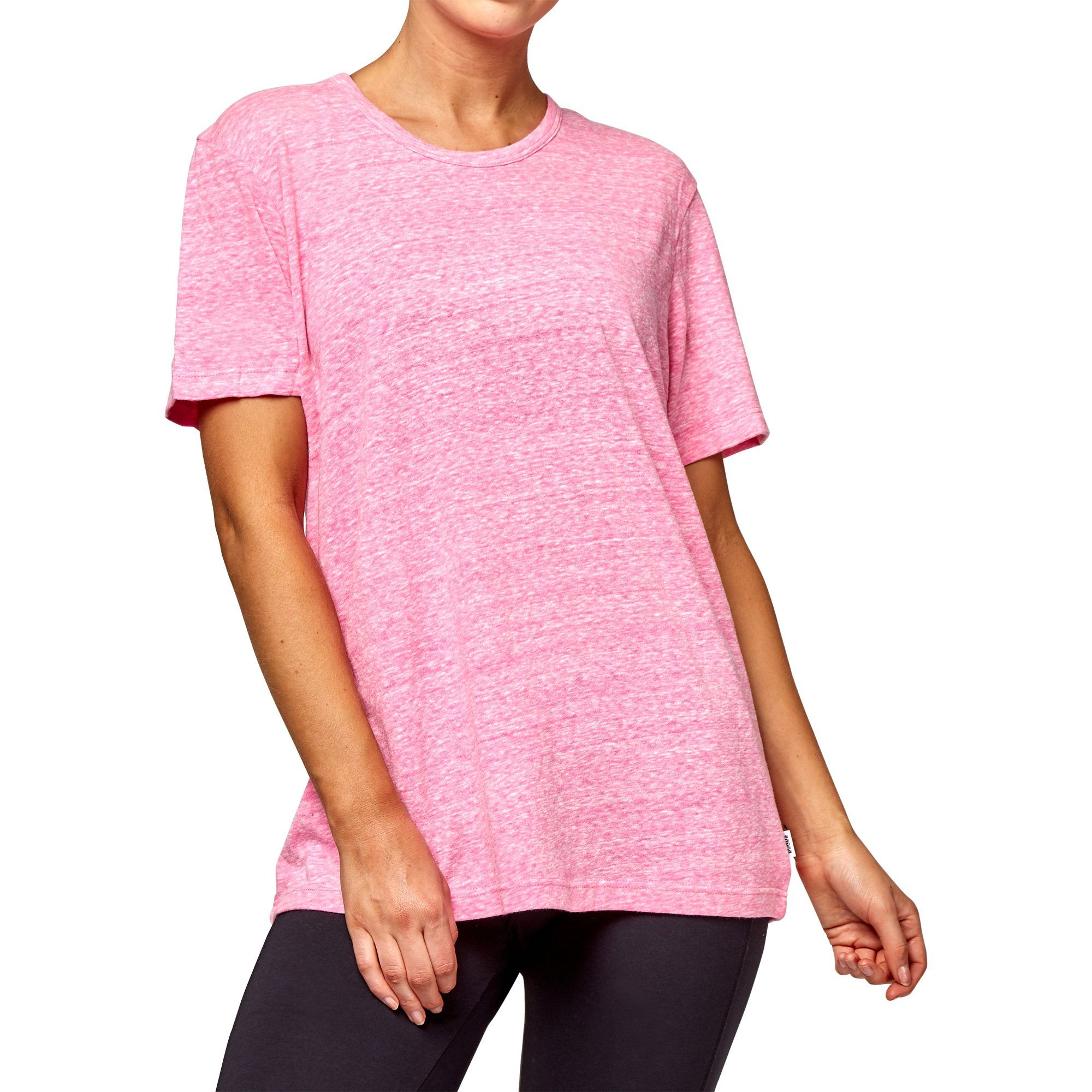 Bonds Women's Triblend Crew Tee - Hot Purple Apparel Bonds  (2019304439867)