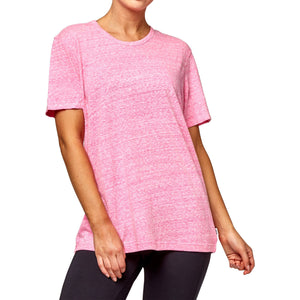 Bonds Women's Triblend Crew Tee - Hot Purple Apparel Bonds