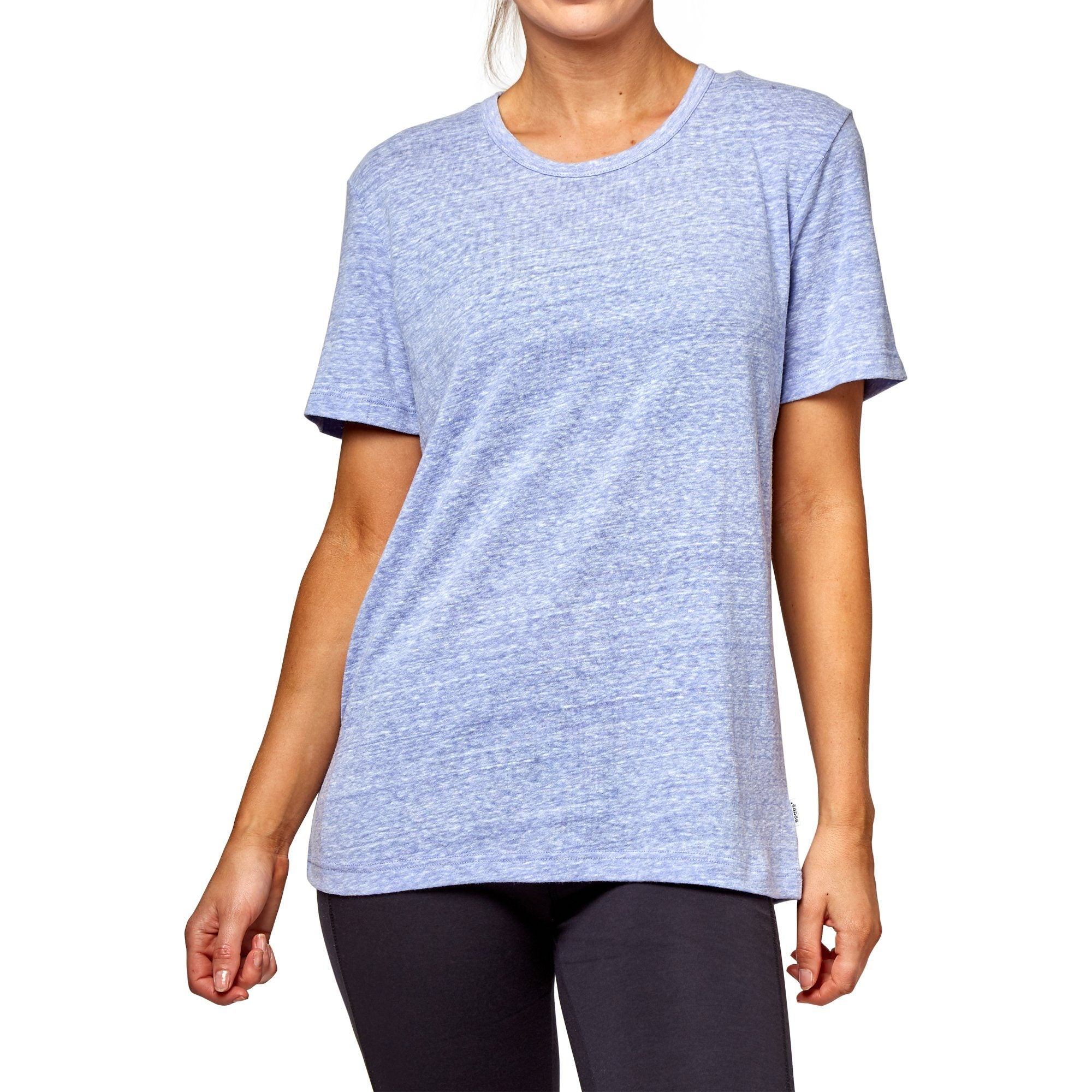Bonds Women's Triblend Crew Tee - Larkspur Apparel Bonds