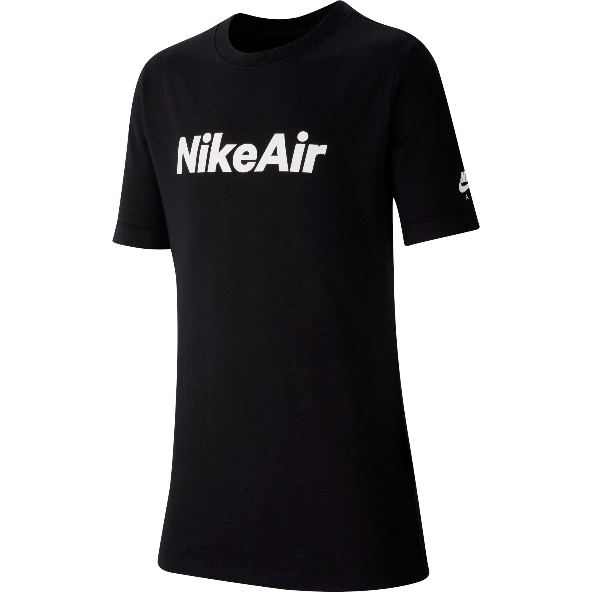 Nike Boys All About Air Tee - Black/White SP-ApparelTees-Kids Nike