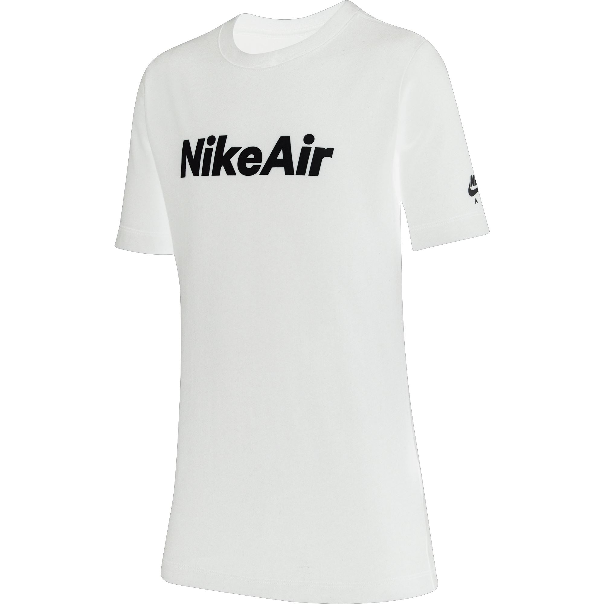 Nike Boys All About Air Tee - White SP-ApparelTees-Kids Nike