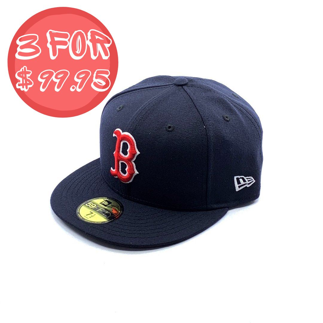 New Era 59Fifty Boston Red Sox - Navy SP-Headwear-Caps New Era