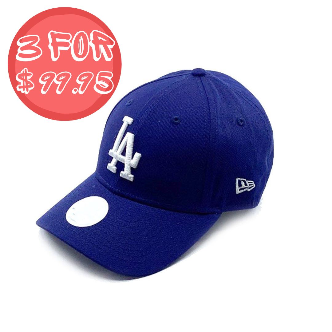 New Era Womens 9Forty Los Angeles Dodgers - Dark Royal SP-Headwear-Caps New Era