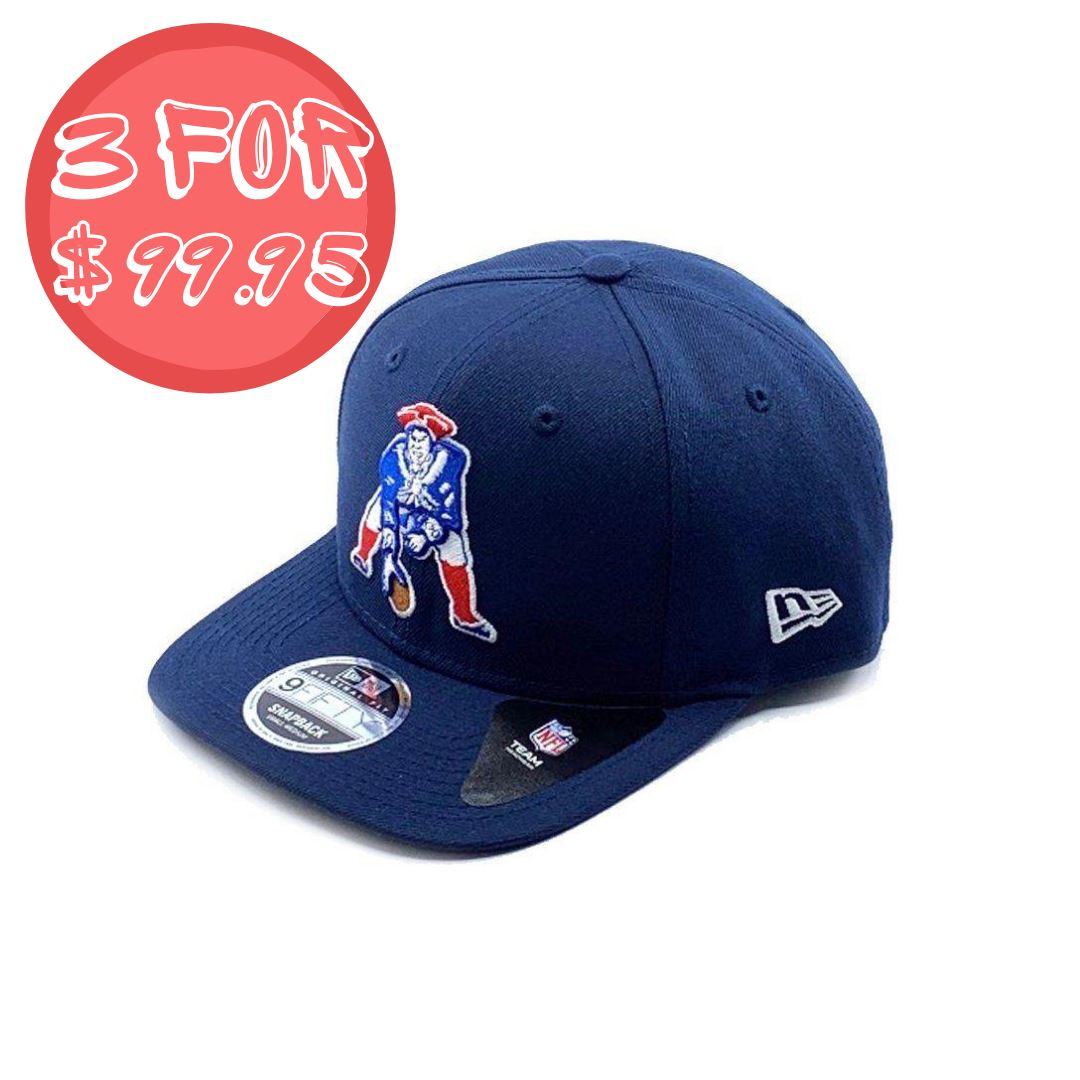 New Era 9FIFTY Nickle & Dime Pre-Curved - New England Patriots SP-Headwear-Caps New Era
