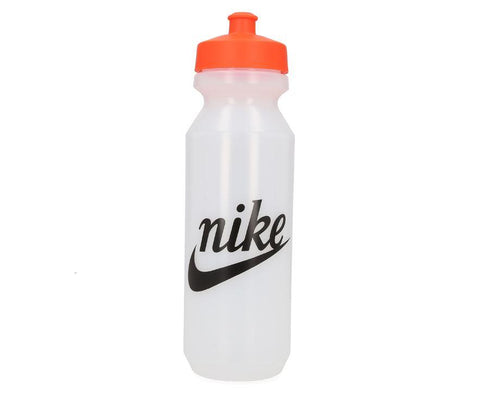 Nike Big Mouth Graphic Water Bottle 946ml - Clear/Orange/Black SP-Accessories-DrinkBottles Nike