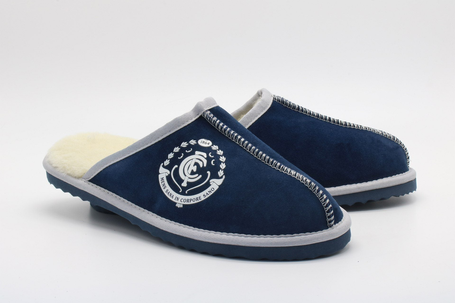 AFL Adults Slippers - Carlton Blues Footwear Team Uggs