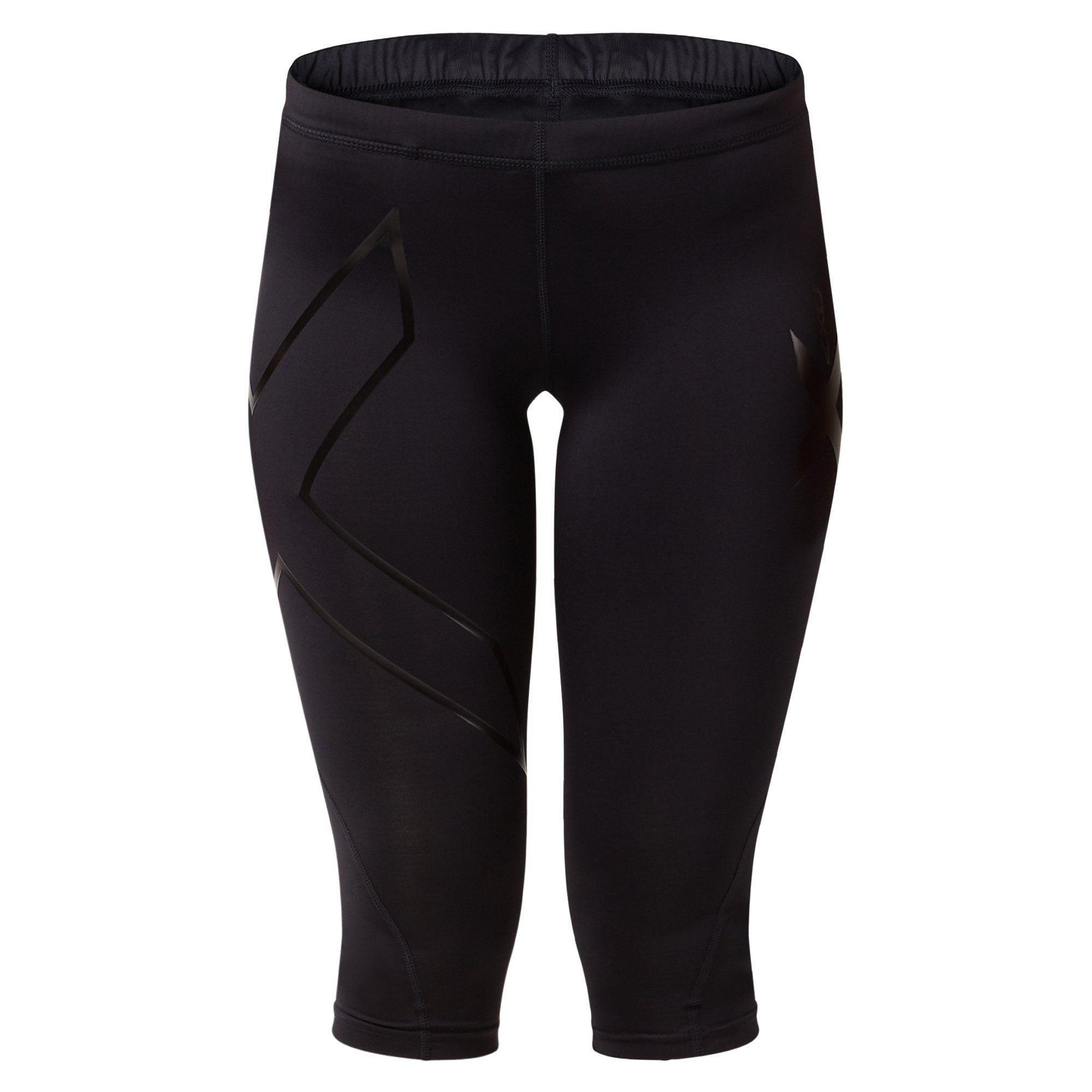 2XU Women's 3/4 Compression Tights G1 - BLK/NRO Apparel 2XU