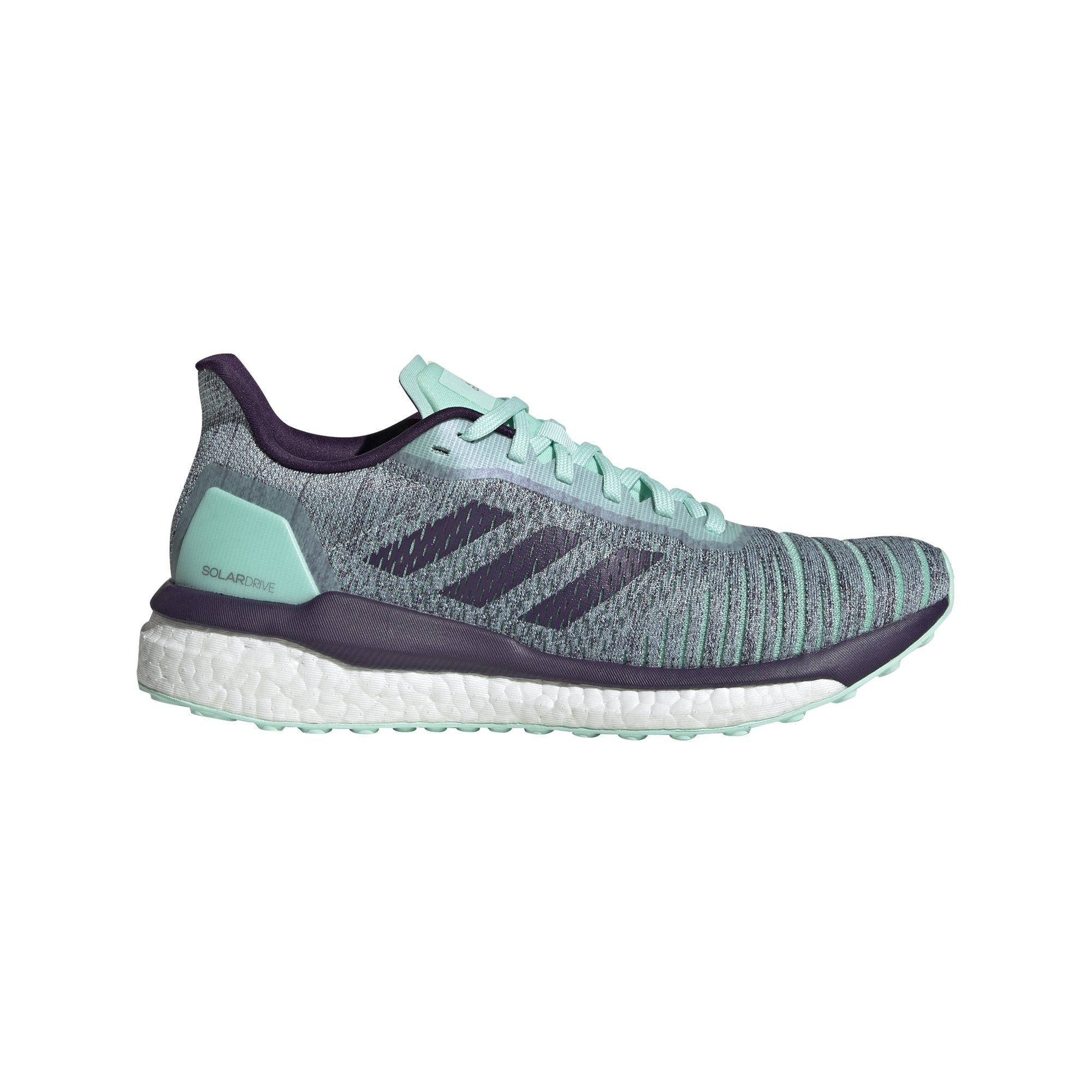 Adidas Womens Solardrive Shoes - clear mint/legend purple/active purple SP-FOOTWEAR-WOMENS Adidas